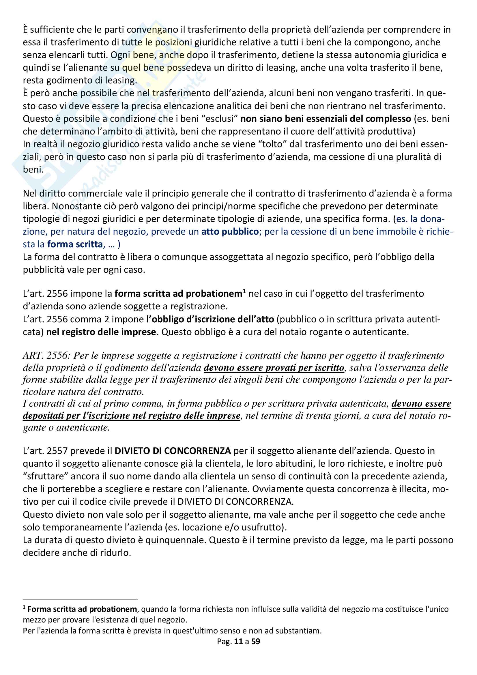 Appunti diritto commerciale Pag. 11