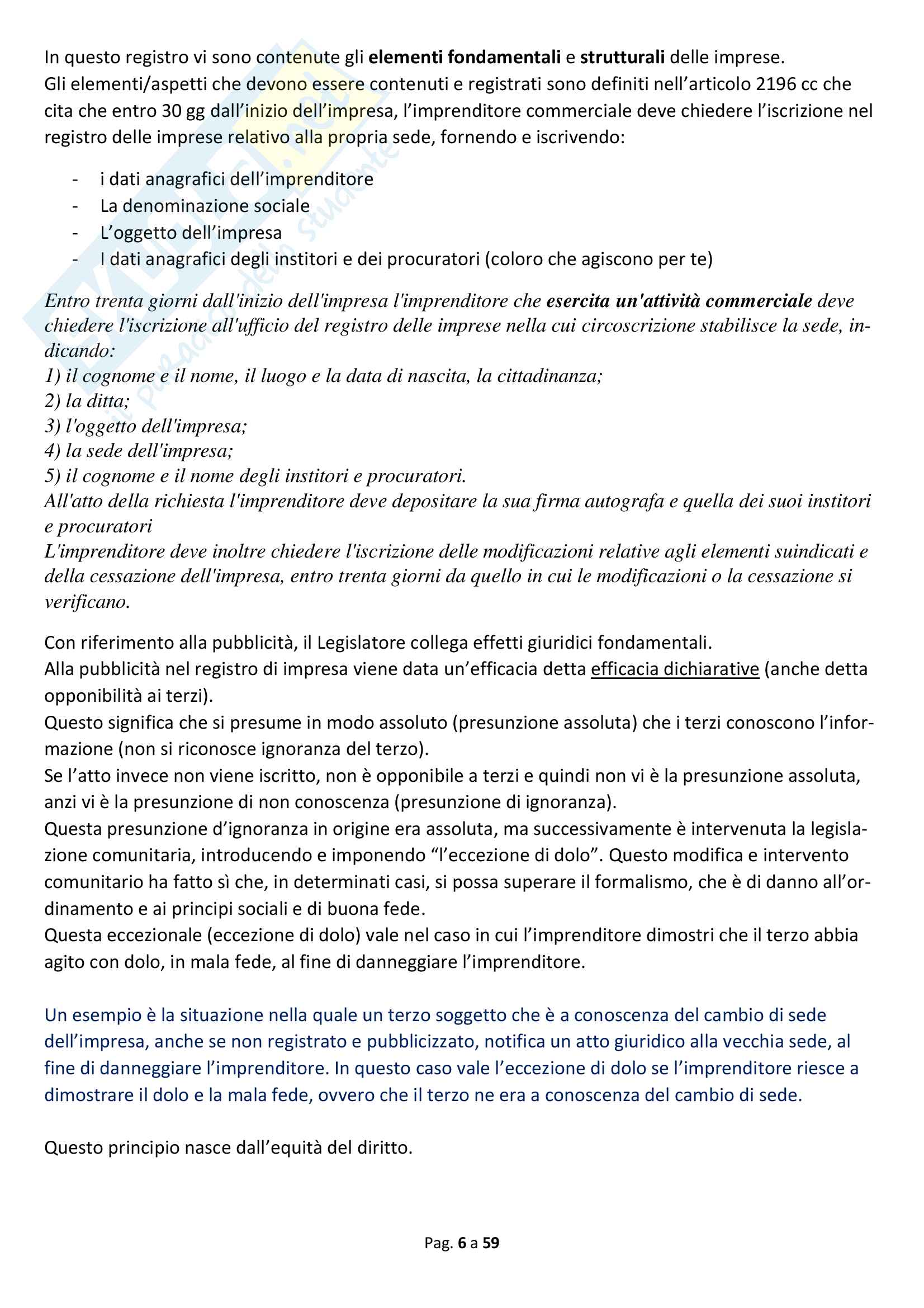 Appunti diritto commerciale Pag. 6