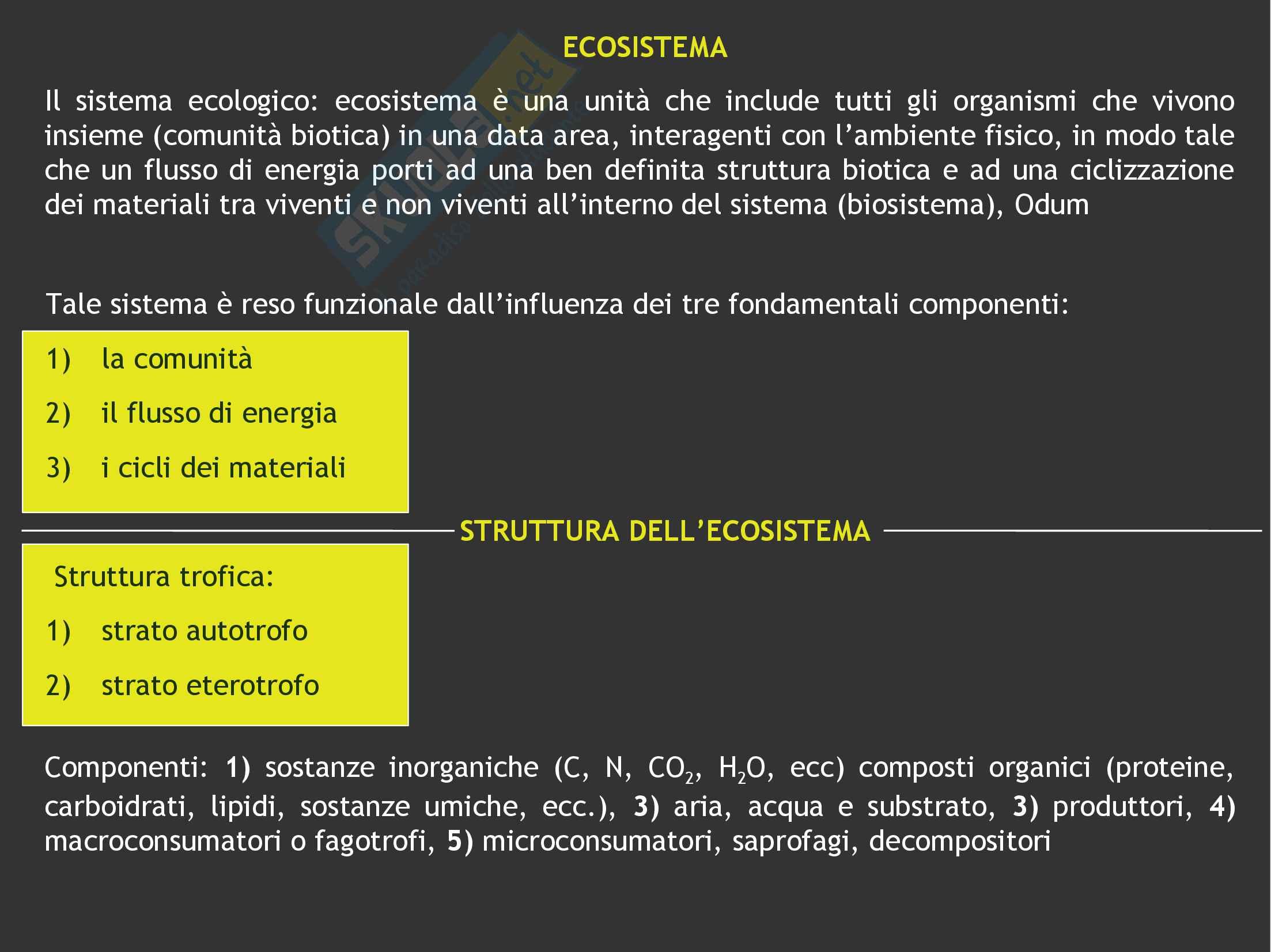 Ecologia: Ecosistema