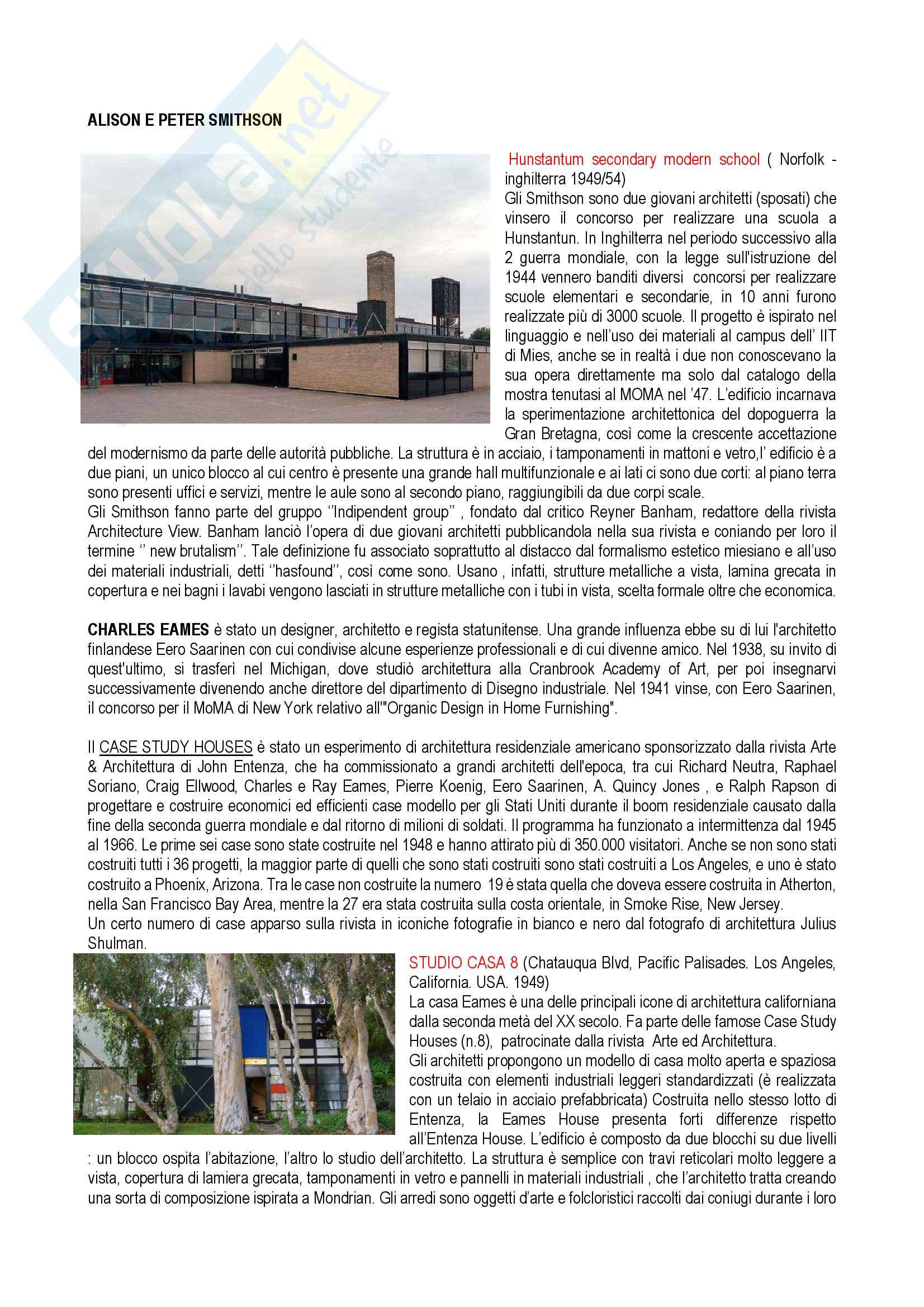 Appunti di Storia Architettura Contemporanea Parte Prima Pag. 6