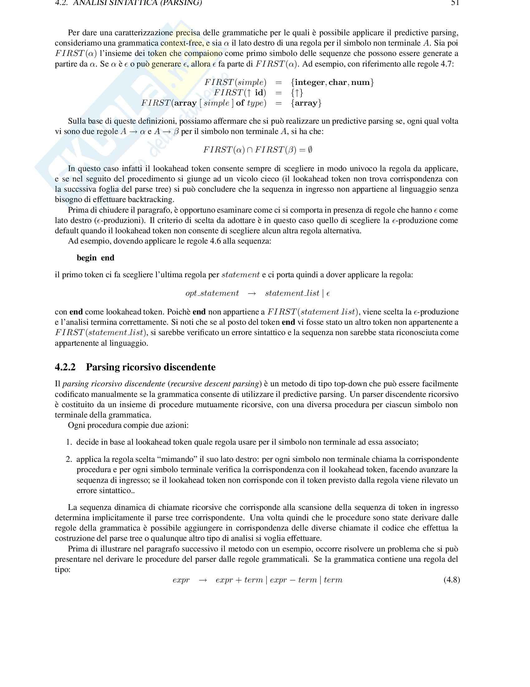 Algoritmi e strutture dati Pag. 51