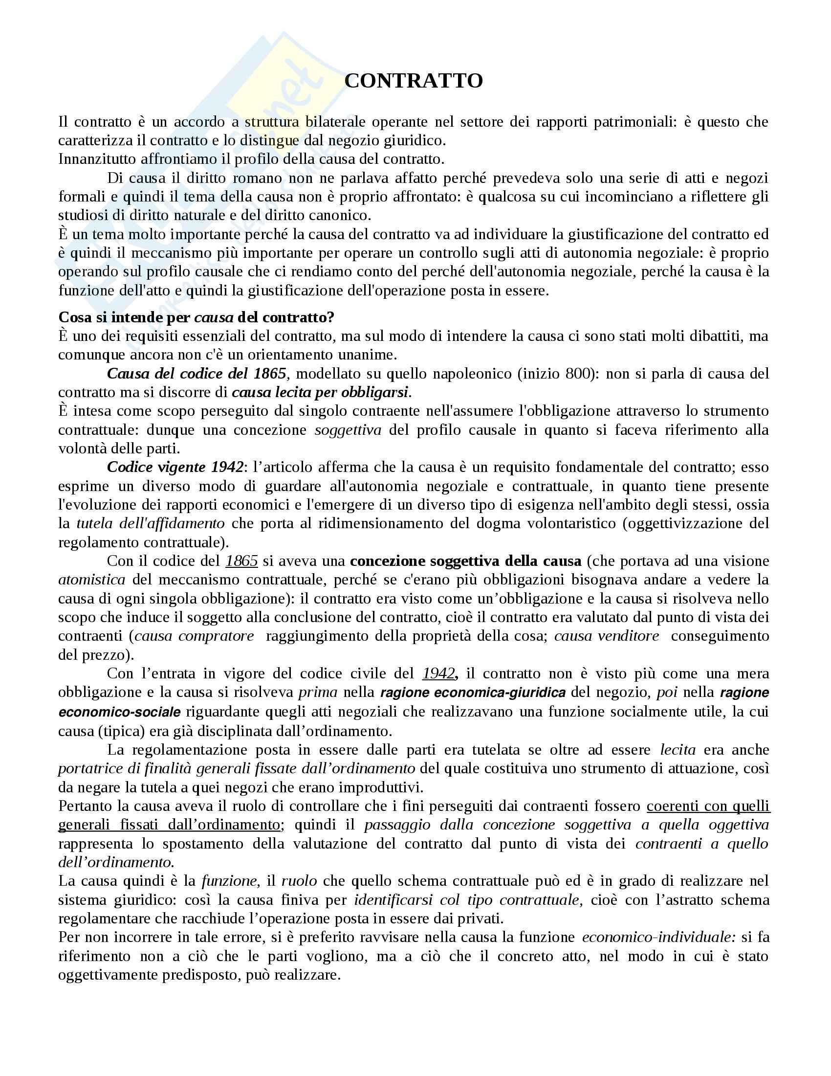 appunto G. Chiappetta Diritto privato
