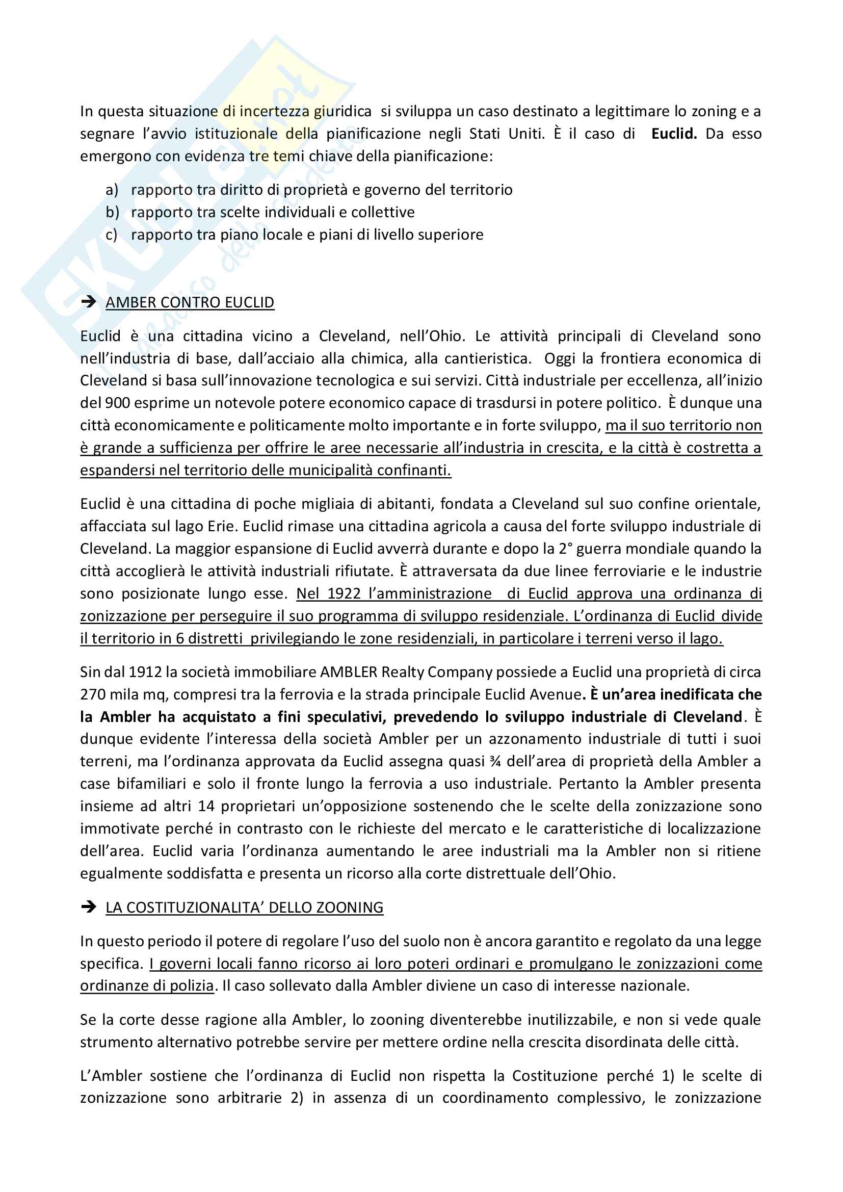 Schemi riassunto appunti Gaeta - pianificazione e governo del territorio Pag. 2