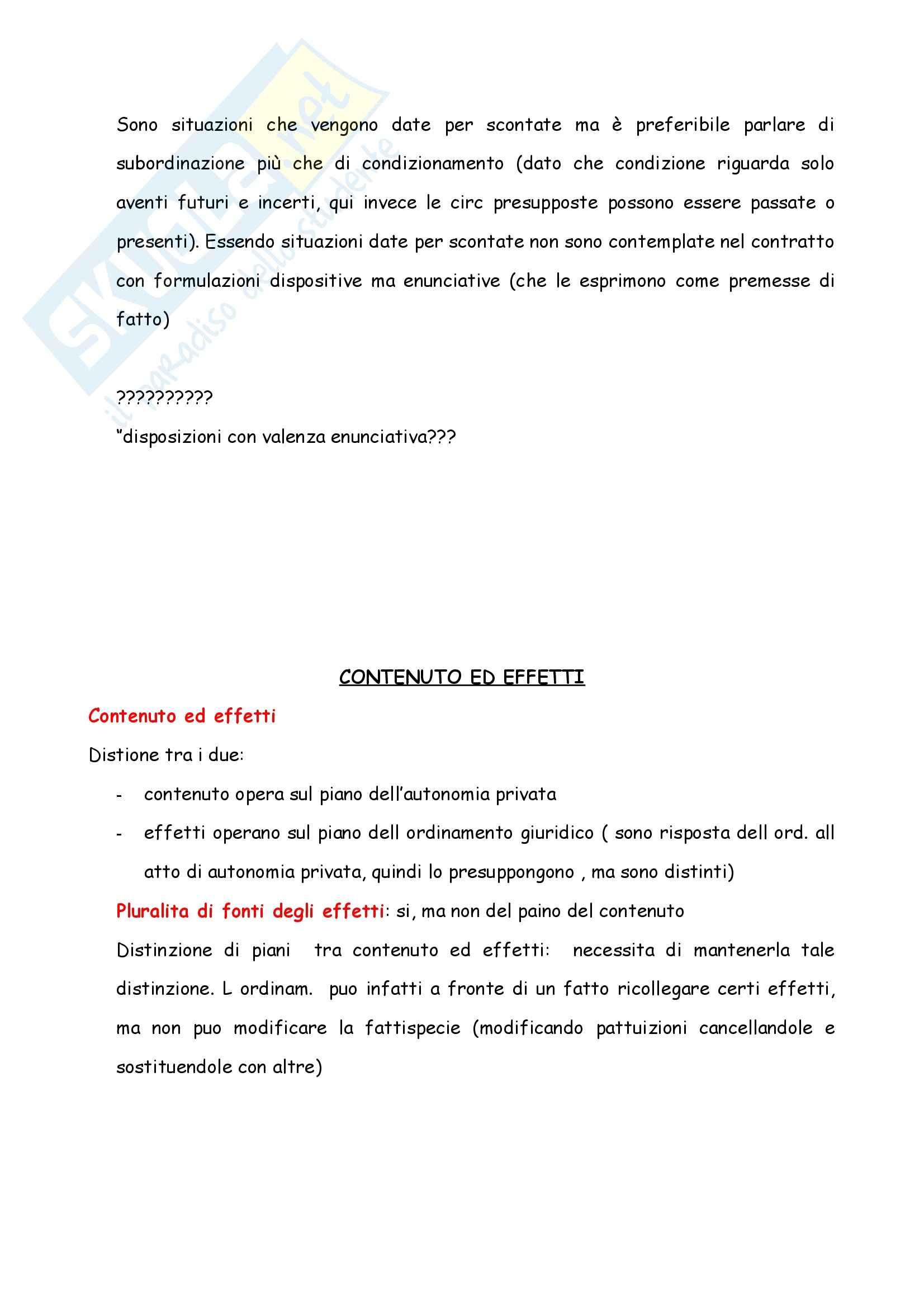 Riassunto esame Diritto Civile, prof. Cautadella, I Contratti, Cap 3 Pag. 11