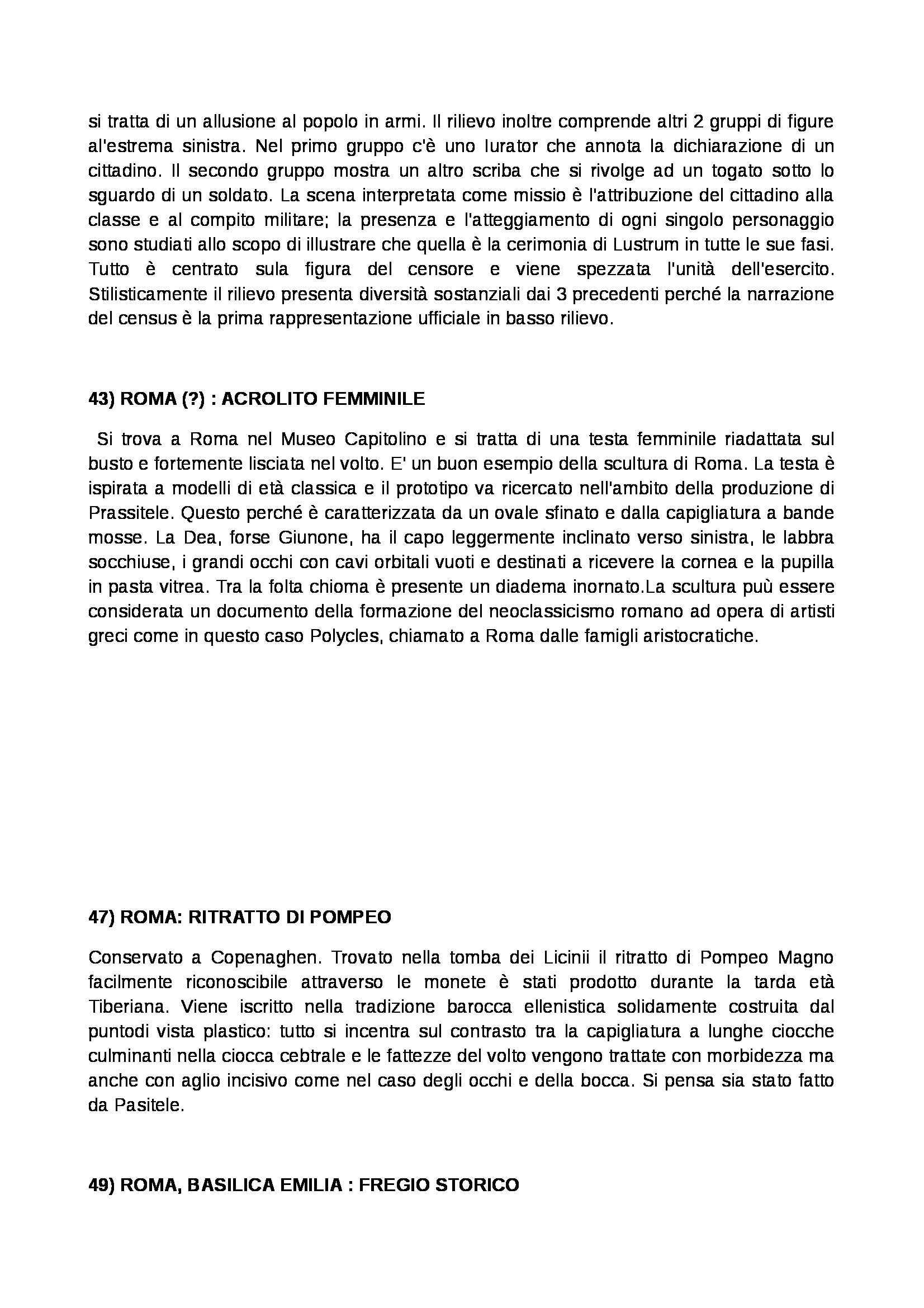 Archeologia e storia dell'arte romana - Appunti Pag. 11