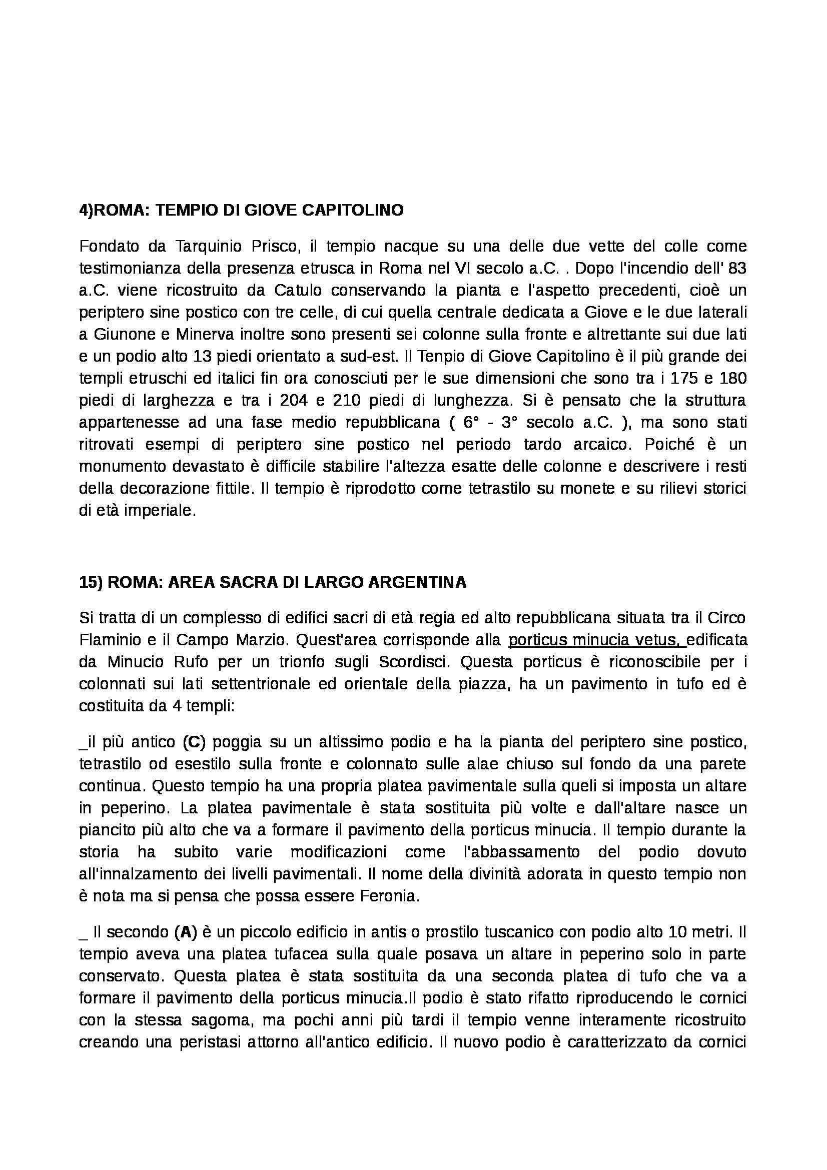Archeologia e storia dell'arte romana - Appunti Pag. 2