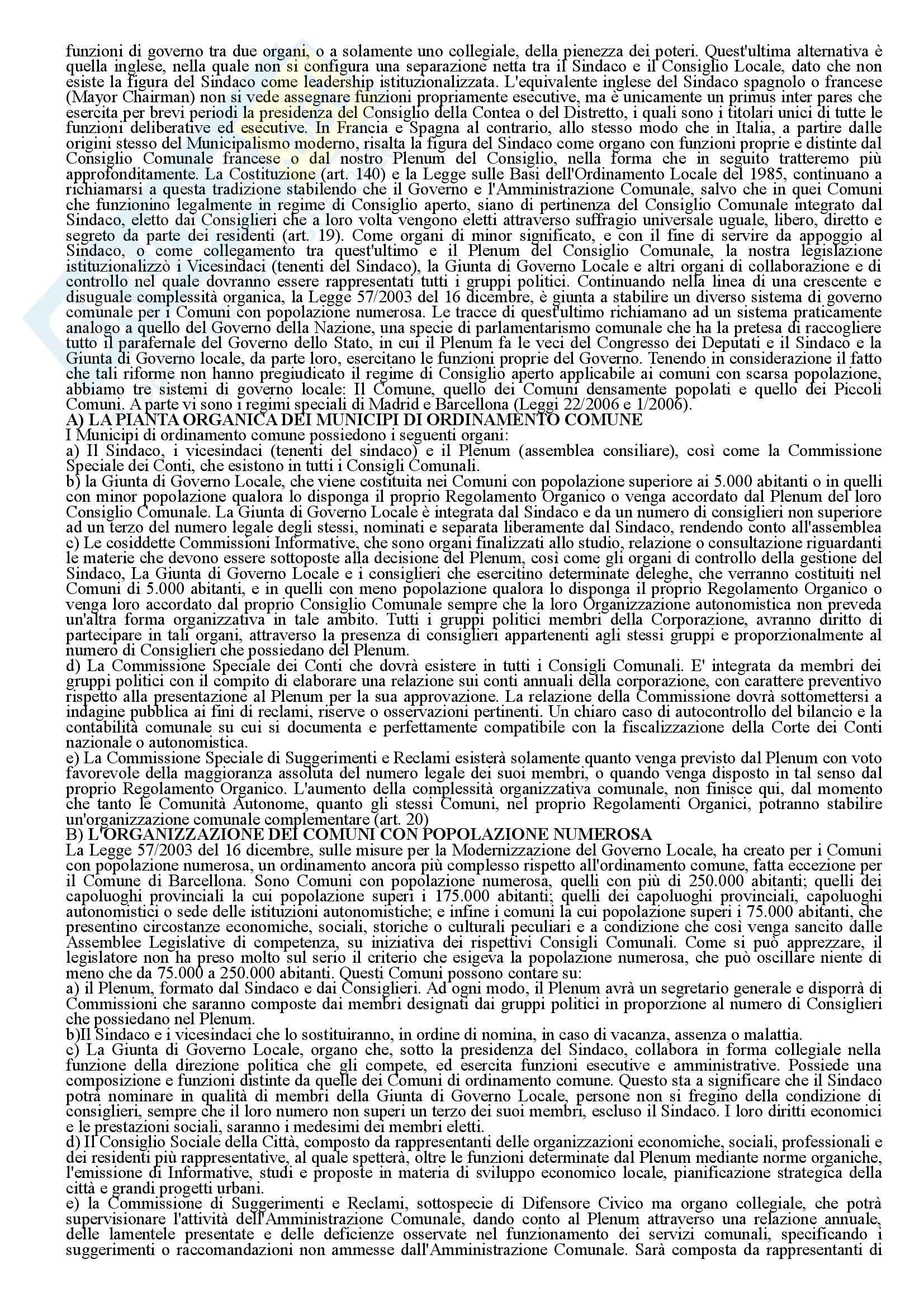 Diritto amministrativo - gli organi e le funzioni Pag. 26