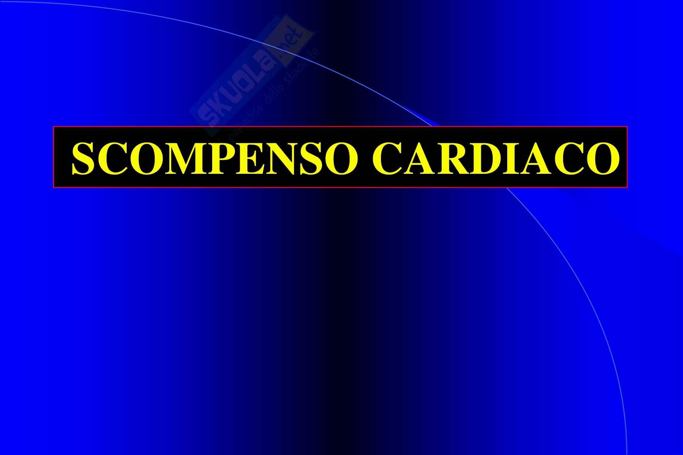 Cardiochirurgia - scompenso cardiaco