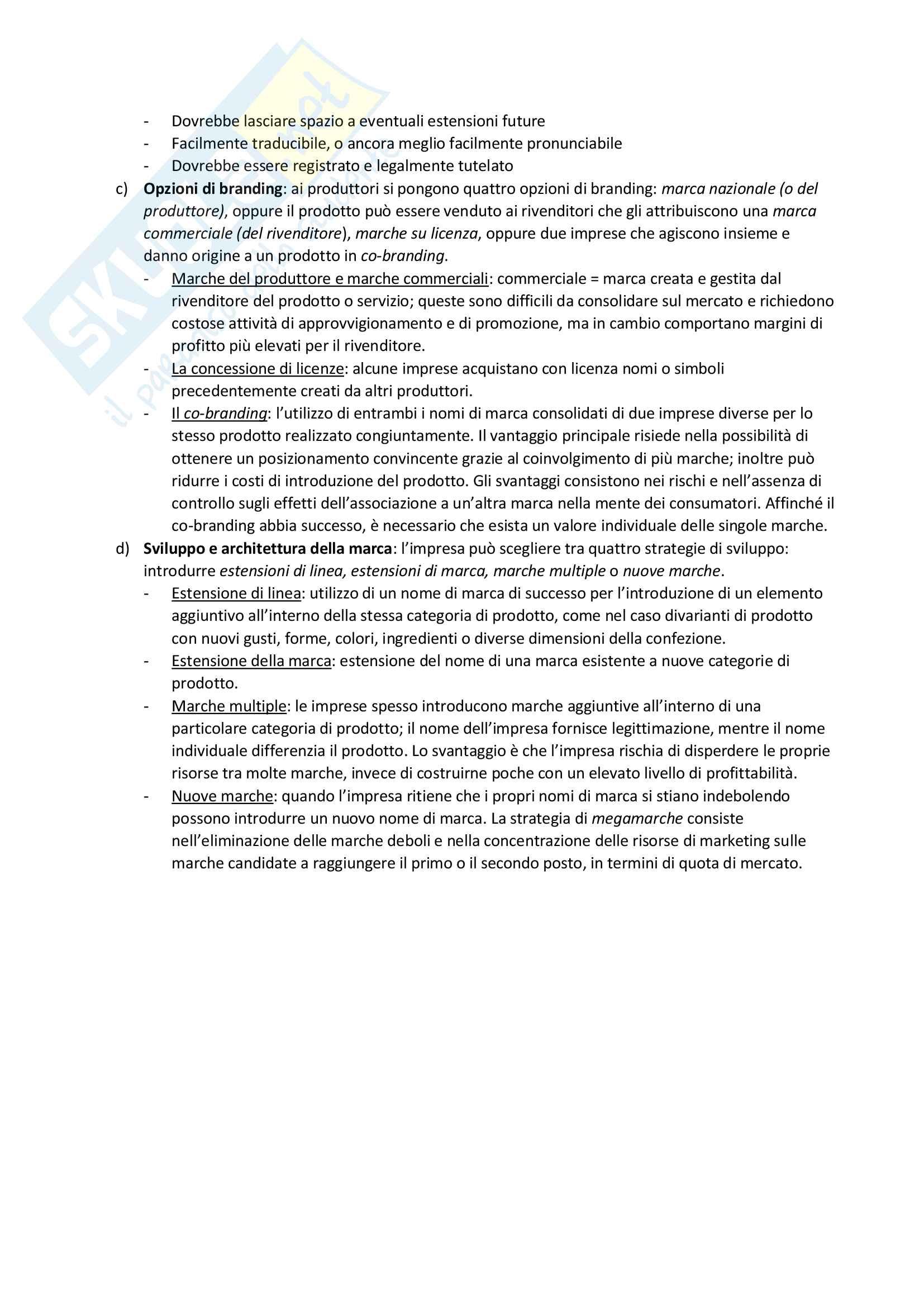 Esame di Marketing Pag. 36
