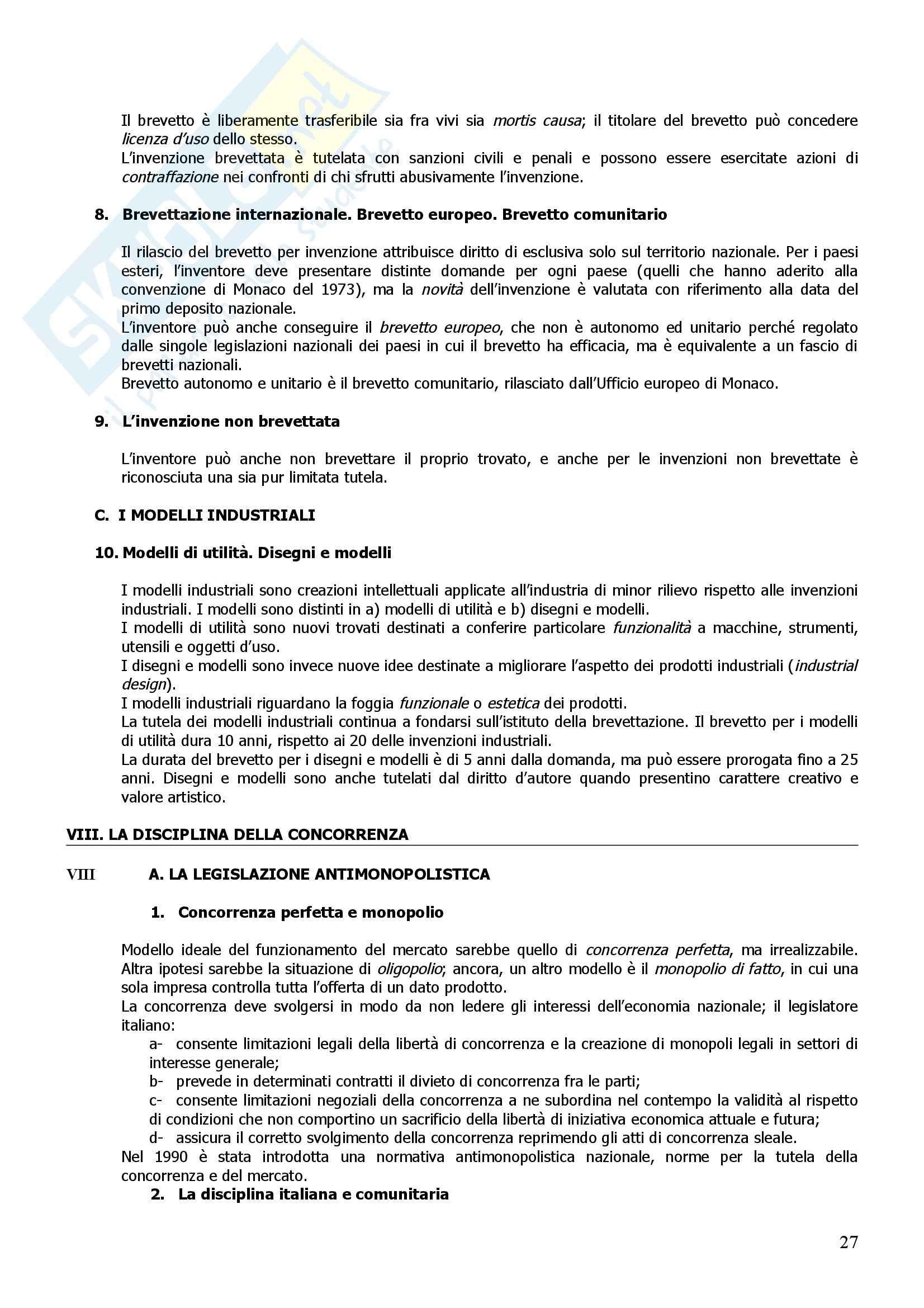 Riassunto esame Diritto Commerciale, prof. Giannelli, libro consigliato Manuale di Diritto Commerciale, Campobasso Pag. 26