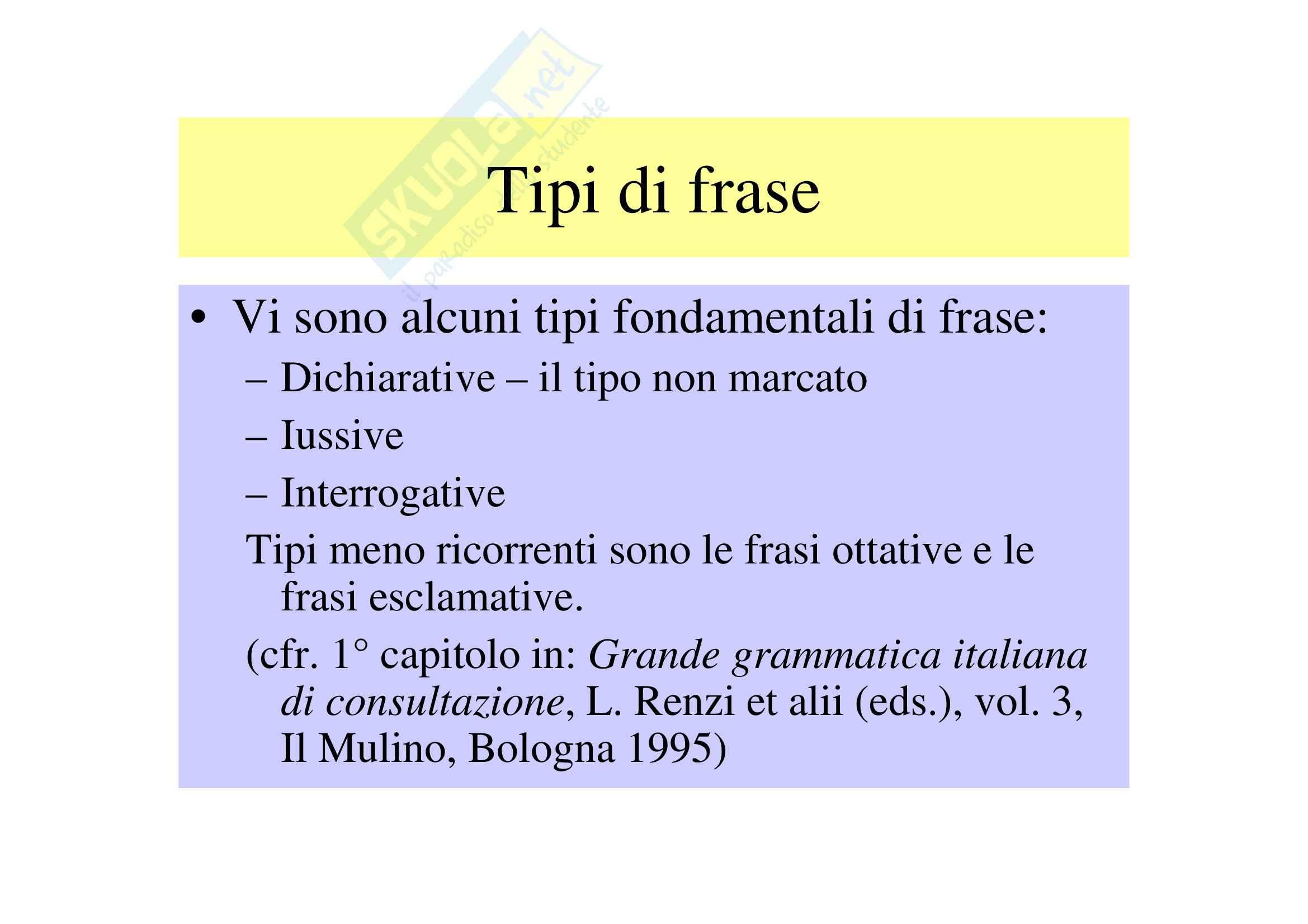Tipi di frase I Pag. 2