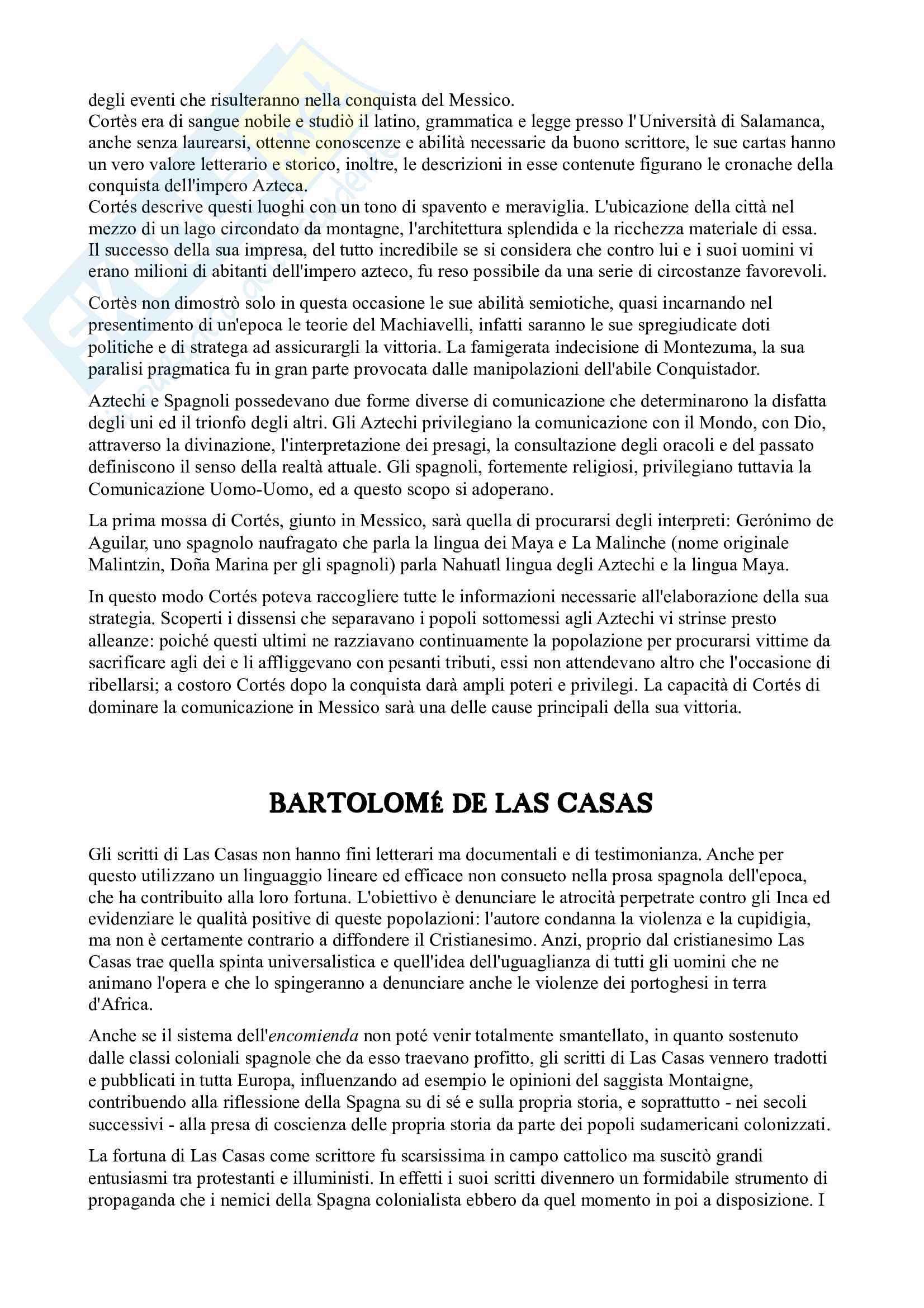 Riassunto esame Letteratura spagnola, prof. Arquez, libro consigliato L'età d'oro della letteratura spagnola 500 e 600 di Profeti Pag. 36