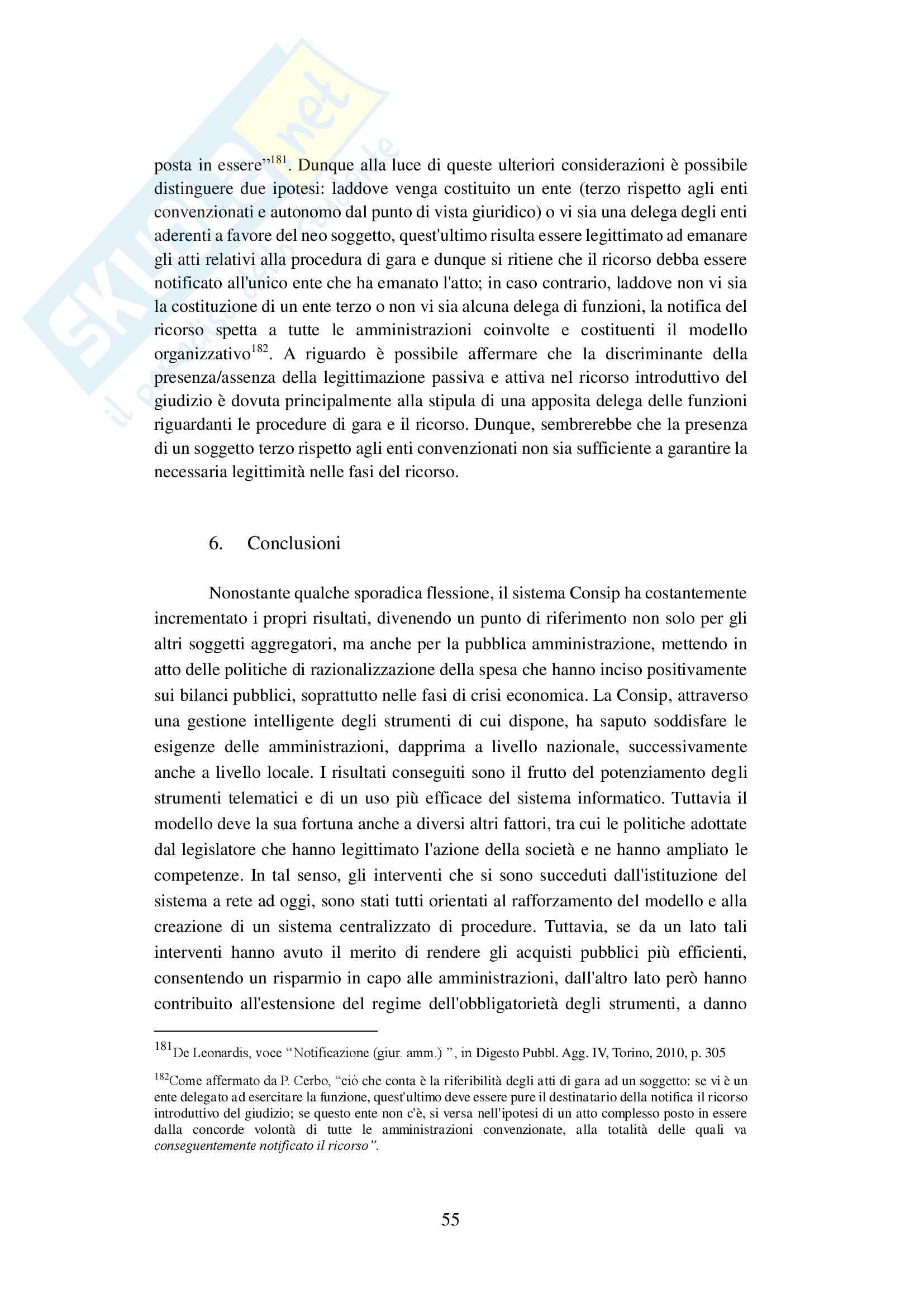 Tesi Centrali di committenza (Codice degli appalti) Pag. 61