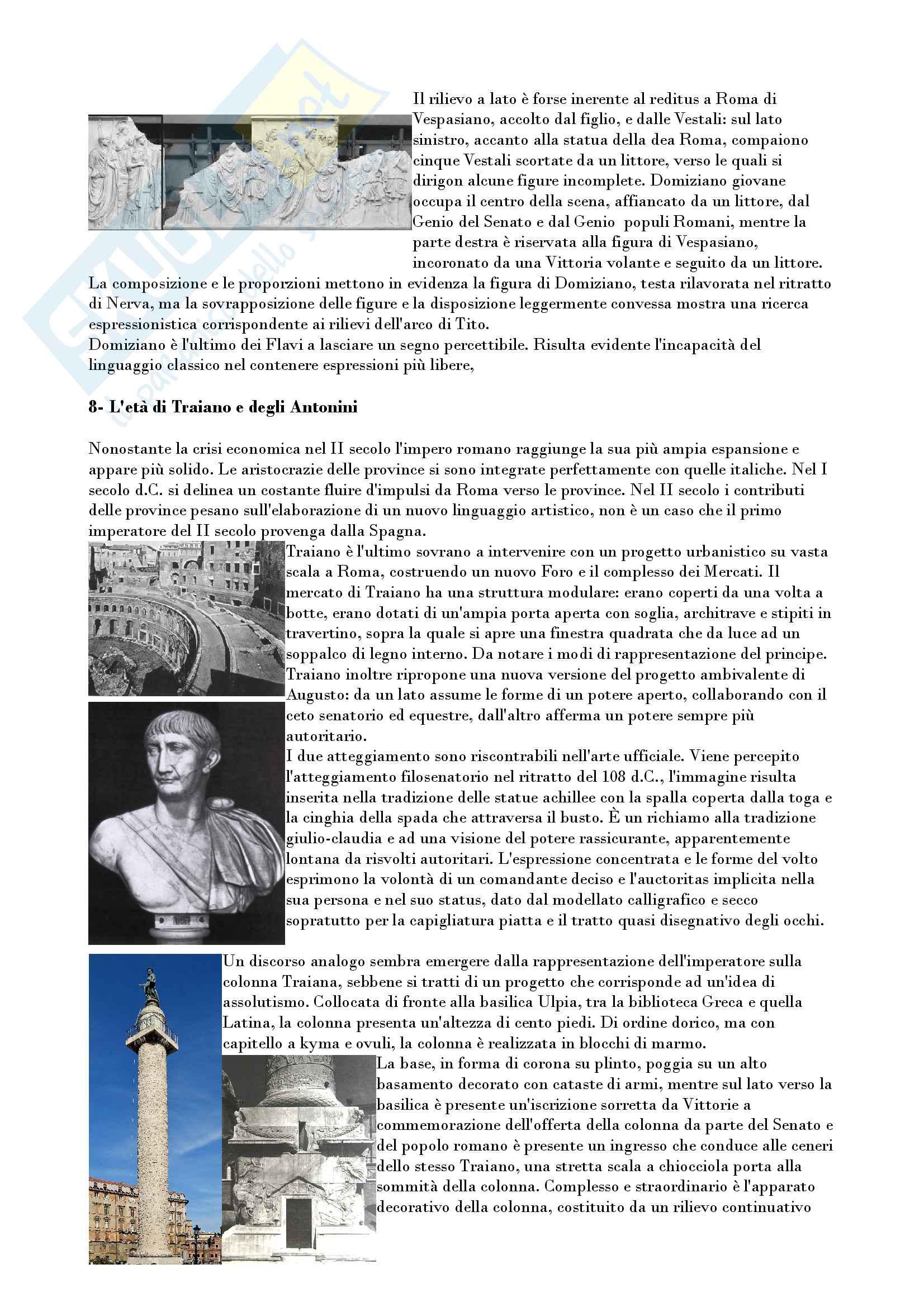 Riassunto esame archeologia e storia arte romana, prof. Romeo, libro consigliato Arte e archeologia del mondo romano, Torelli, Grassigli e Menichetti Pag. 31