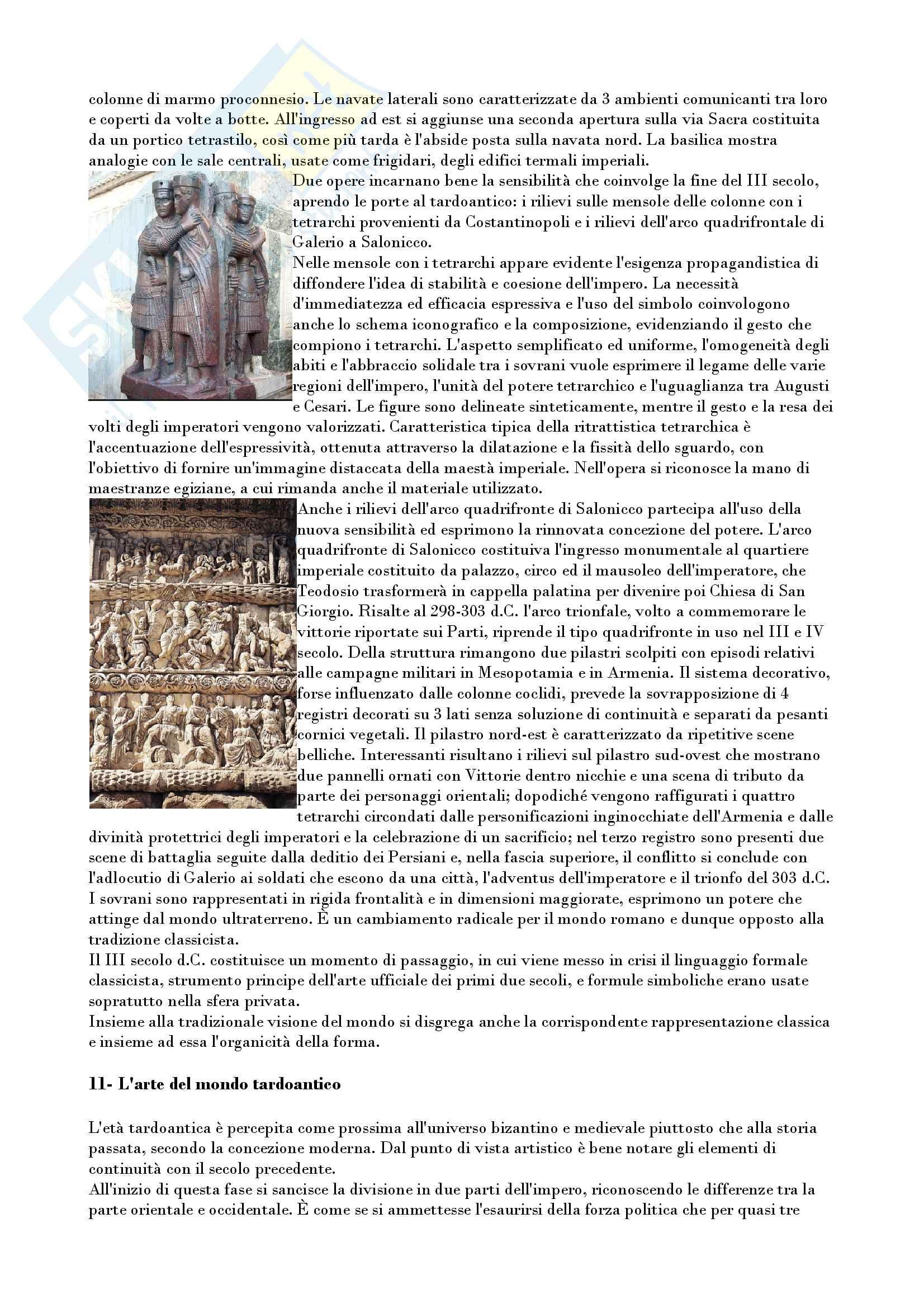 Riassunto esame archeologia e storia arte romana, prof. Romeo, libro consigliato Arte e archeologia del mondo romano, Torelli, Grassigli e Menichetti Pag. 41
