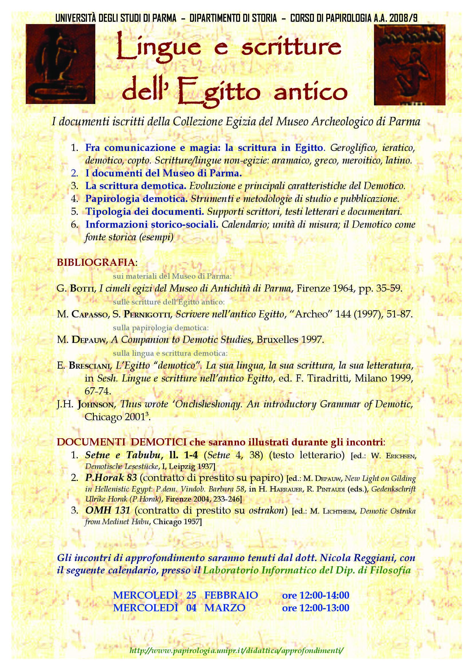 Lingue e scritture dell'antico Egitto