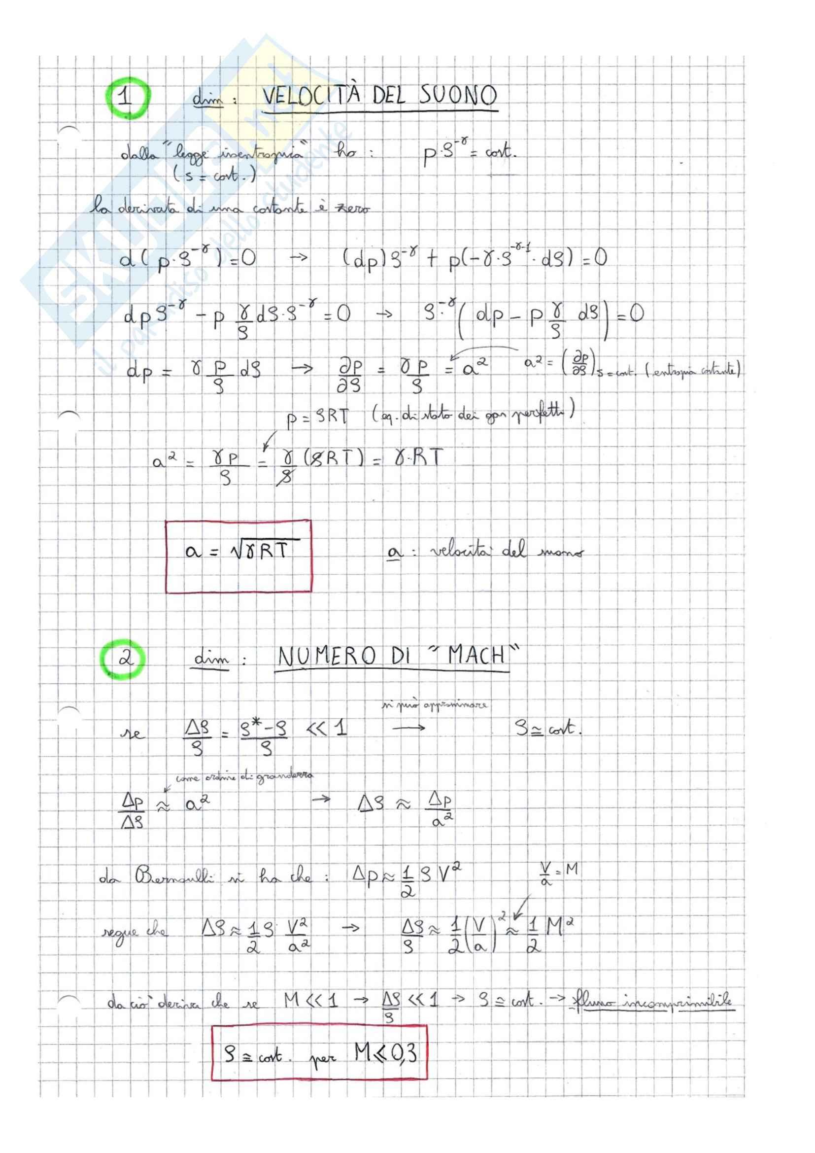 Fluidodinamica - Appunti (parte 1) Pag. 1