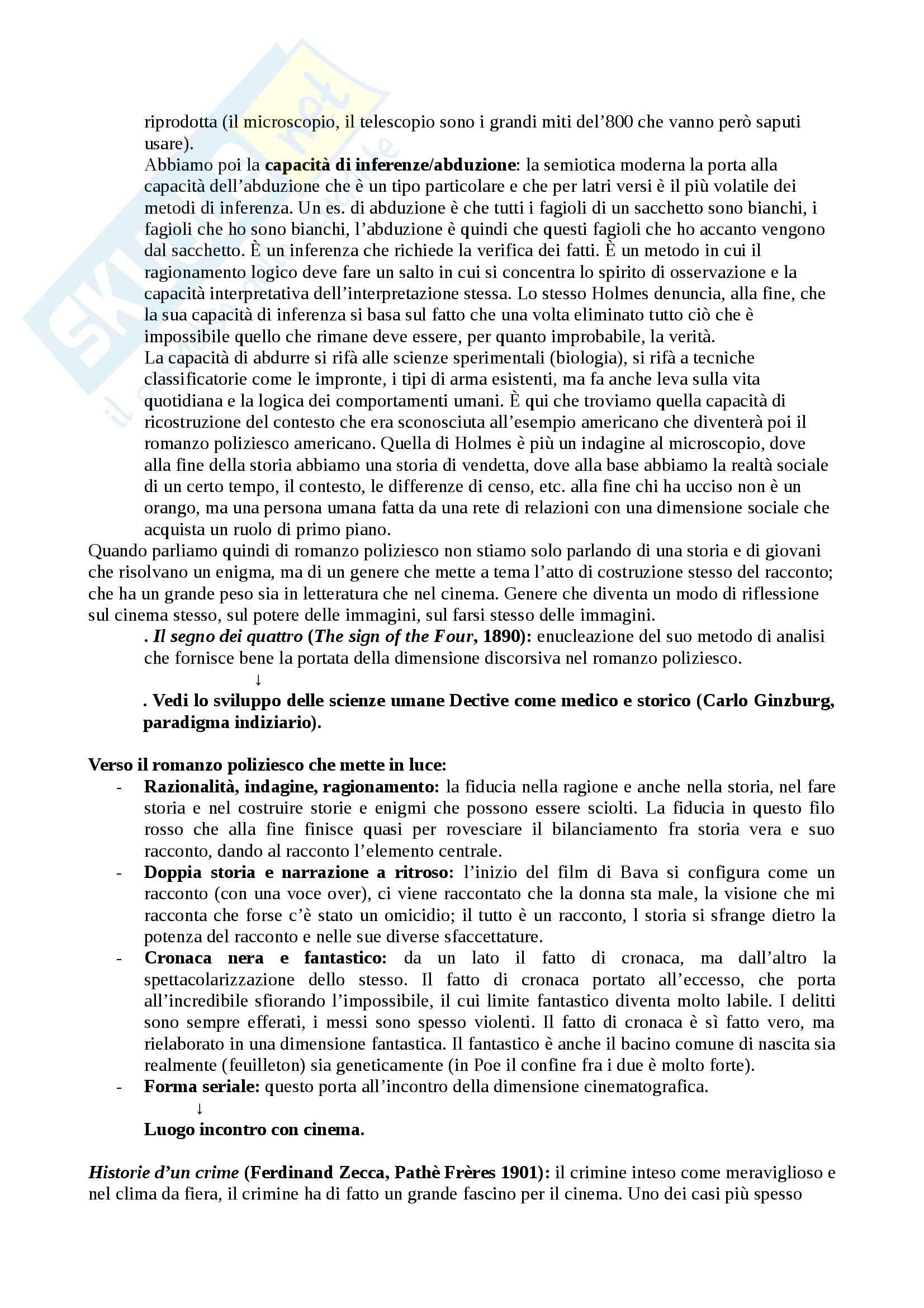 Genere e generi del mistero Echi di noir crime e horror nel giallo all'italiana Pag. 16