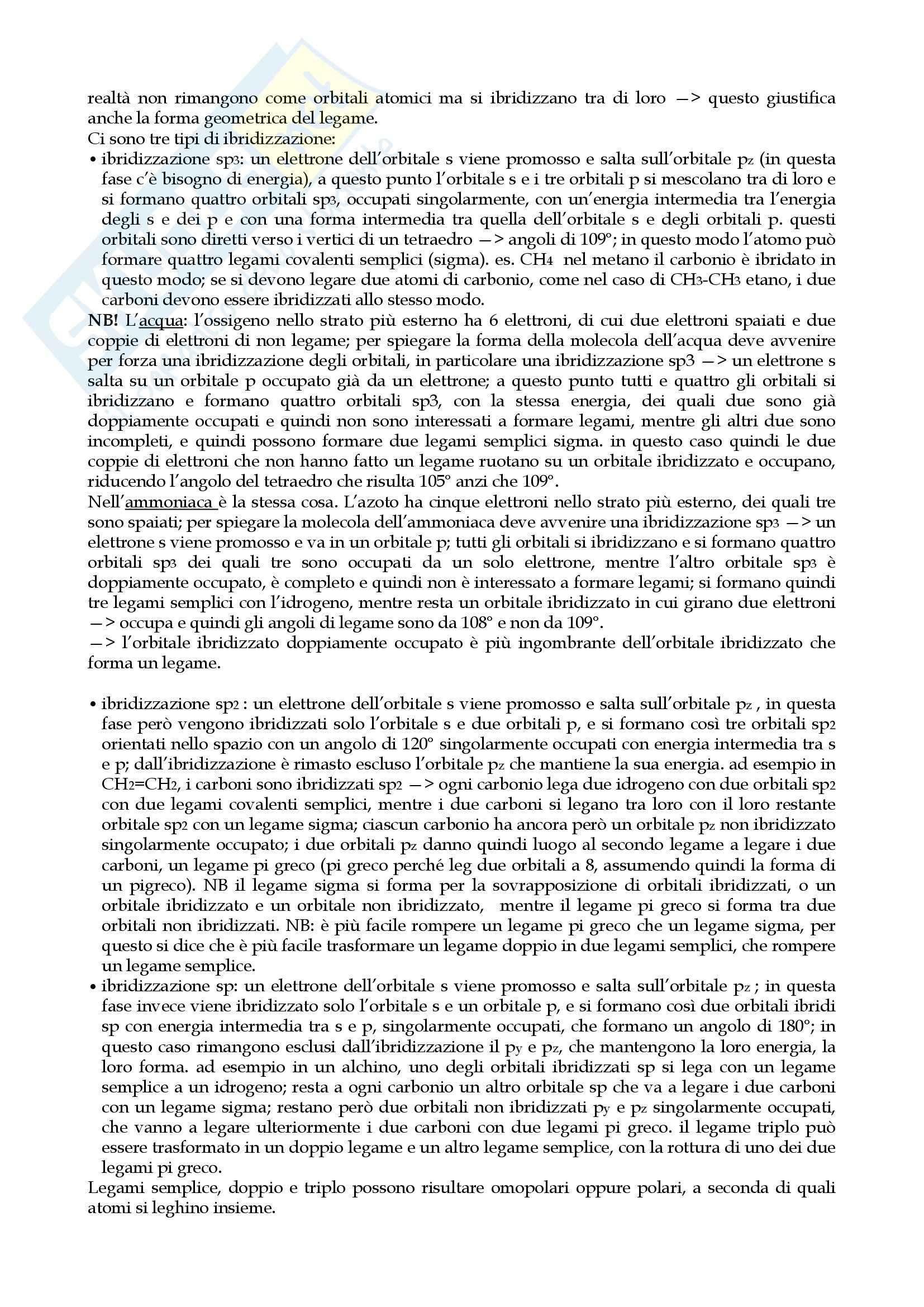 Appunti di Chimica Inorganica Pag. 6