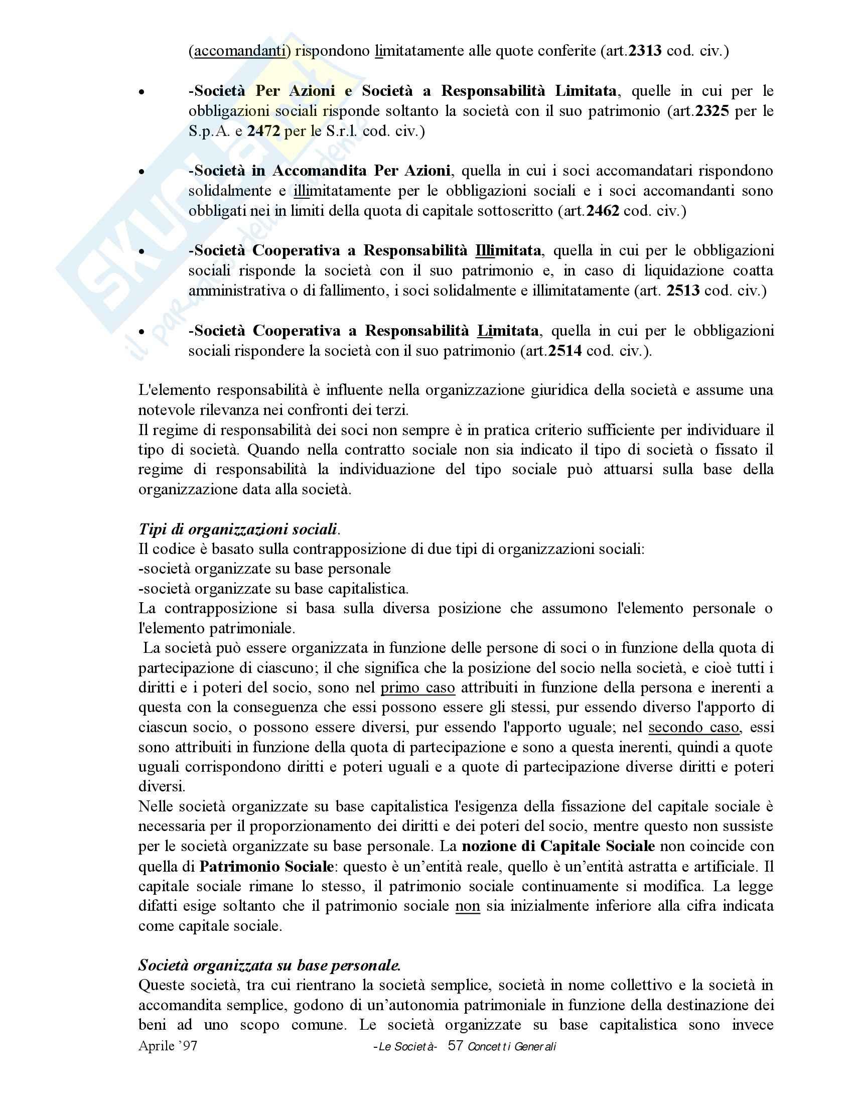 Riassunto esame Diritto, prof. Pellegrino, libro consigliato Diritto commerciale, Monduzzi Pag. 6
