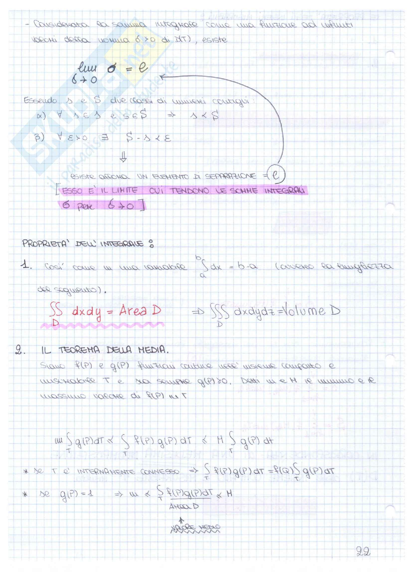 Appunti delle lezioni di Analisi II - Bruna Germano Pag. 21