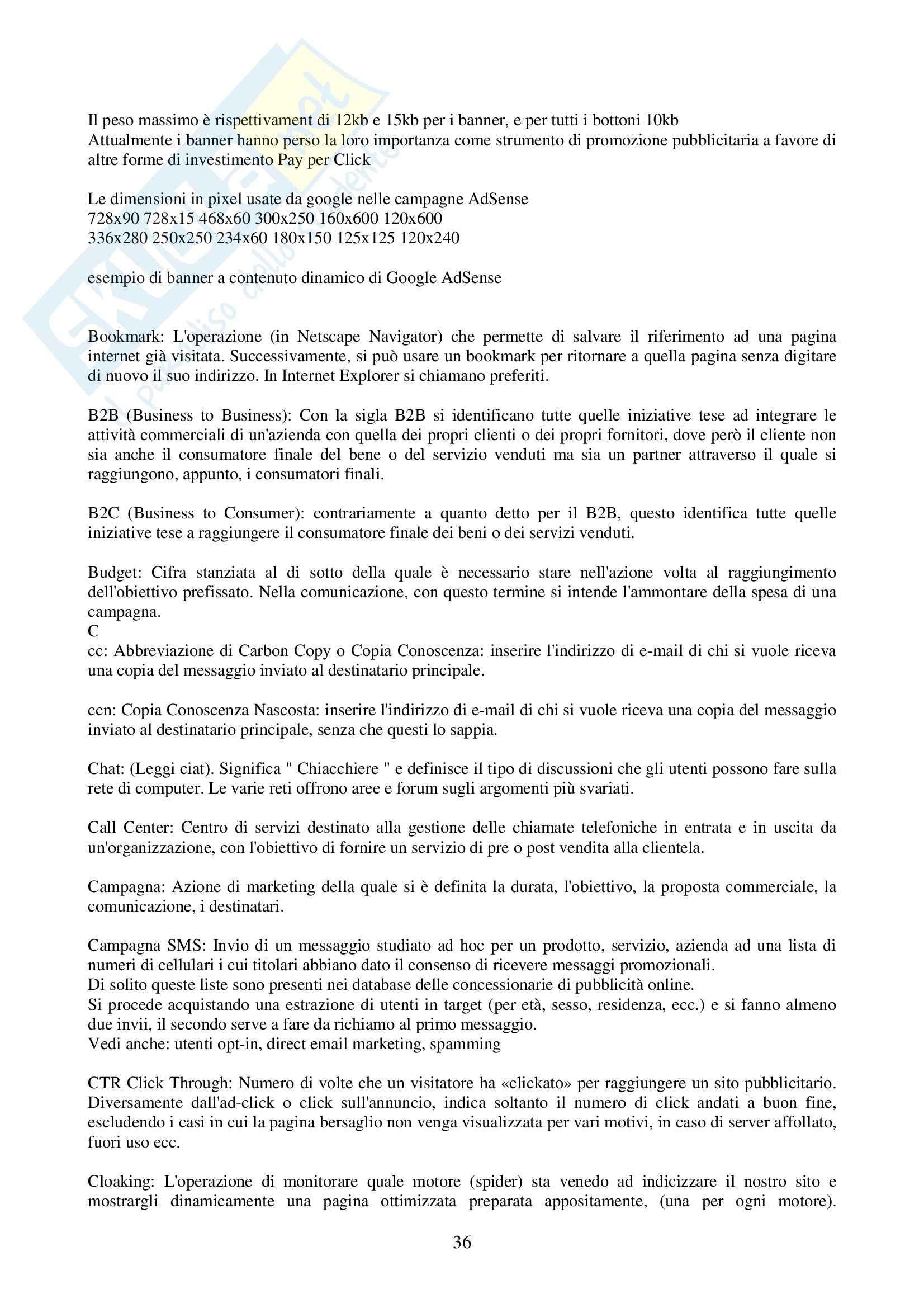 Informatica giuridica - informatica e tutela giuridica Pag. 36