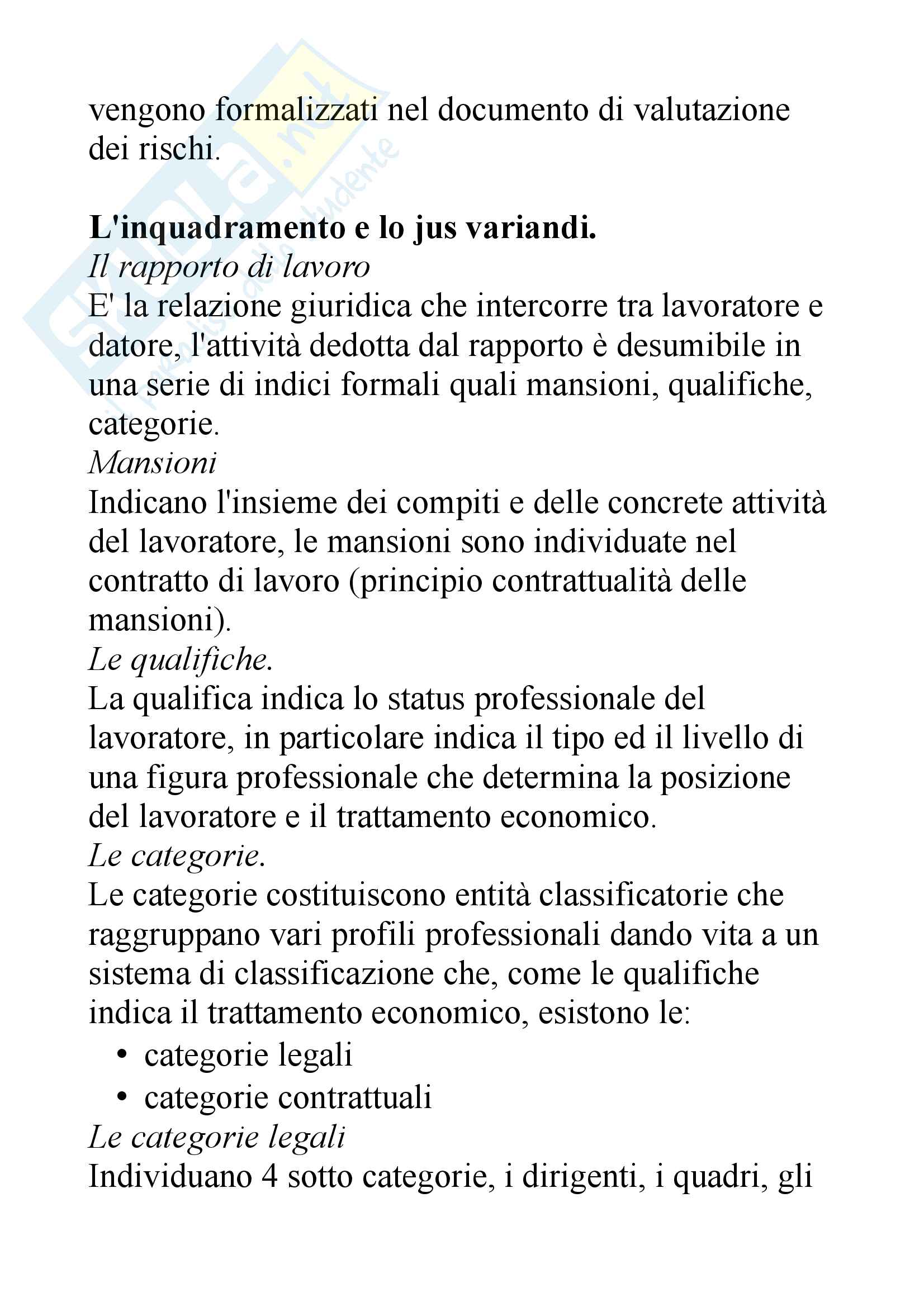 Diritto del lavoro: dalle fonti al diritto sindacale Pag. 16