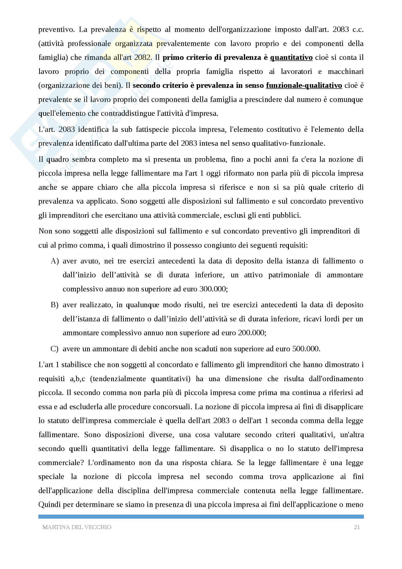 Diritto commerciale Pag. 21