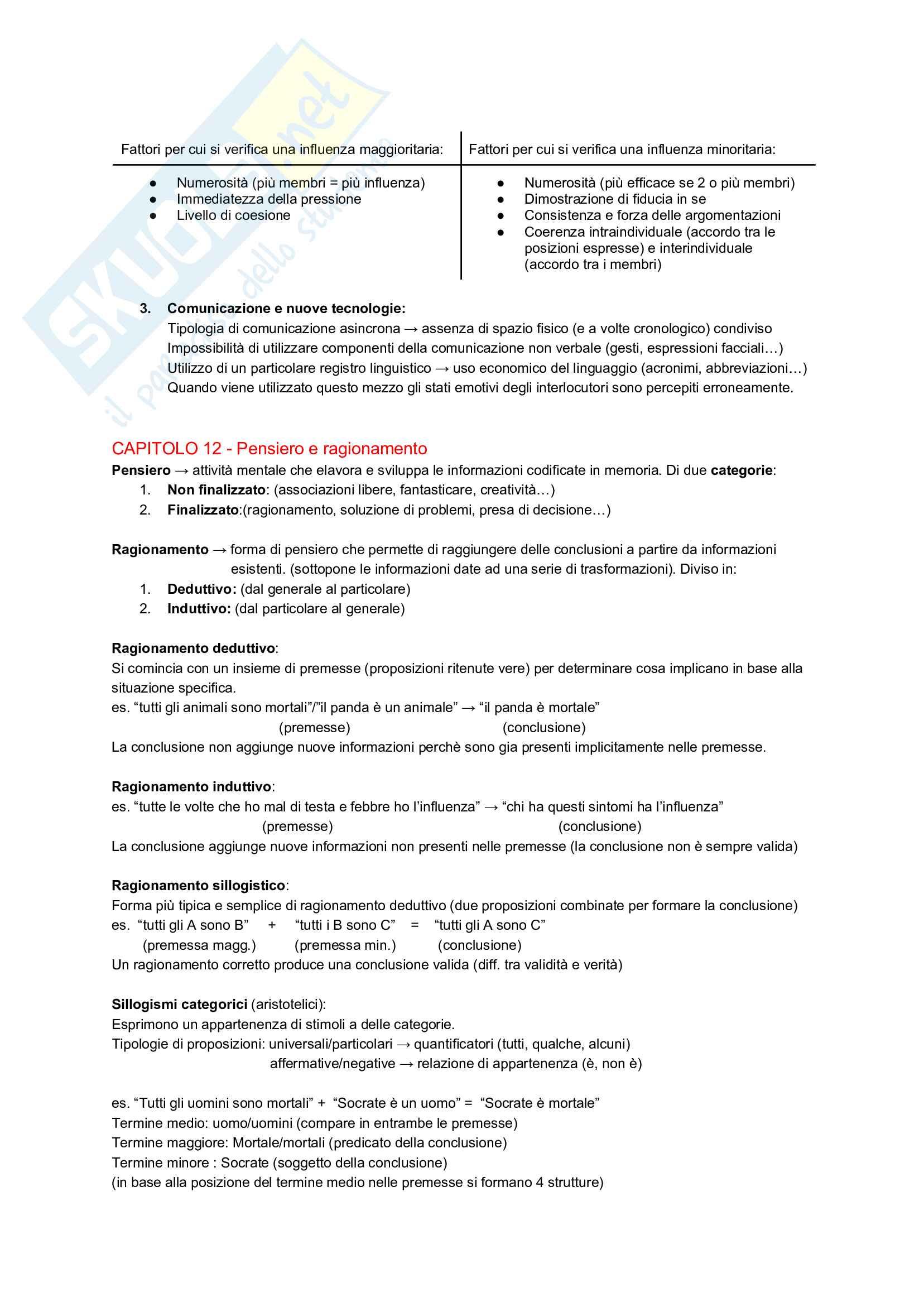 Appunti - Psicologia Generale Pag. 21