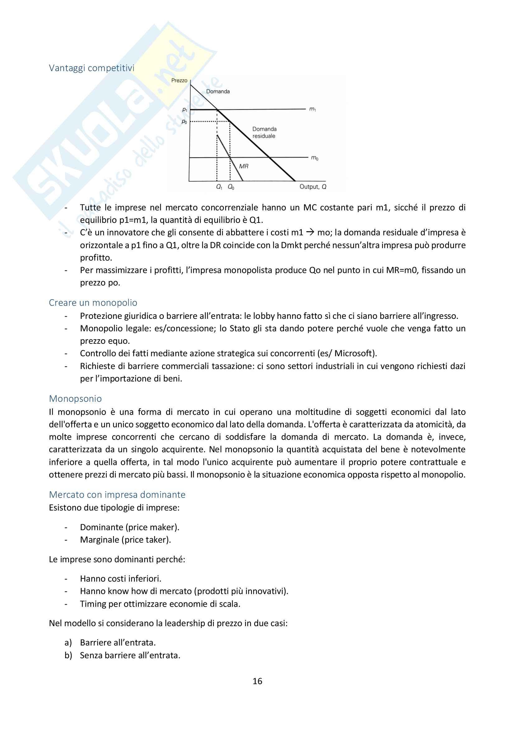 Economia Industriale Pag. 16