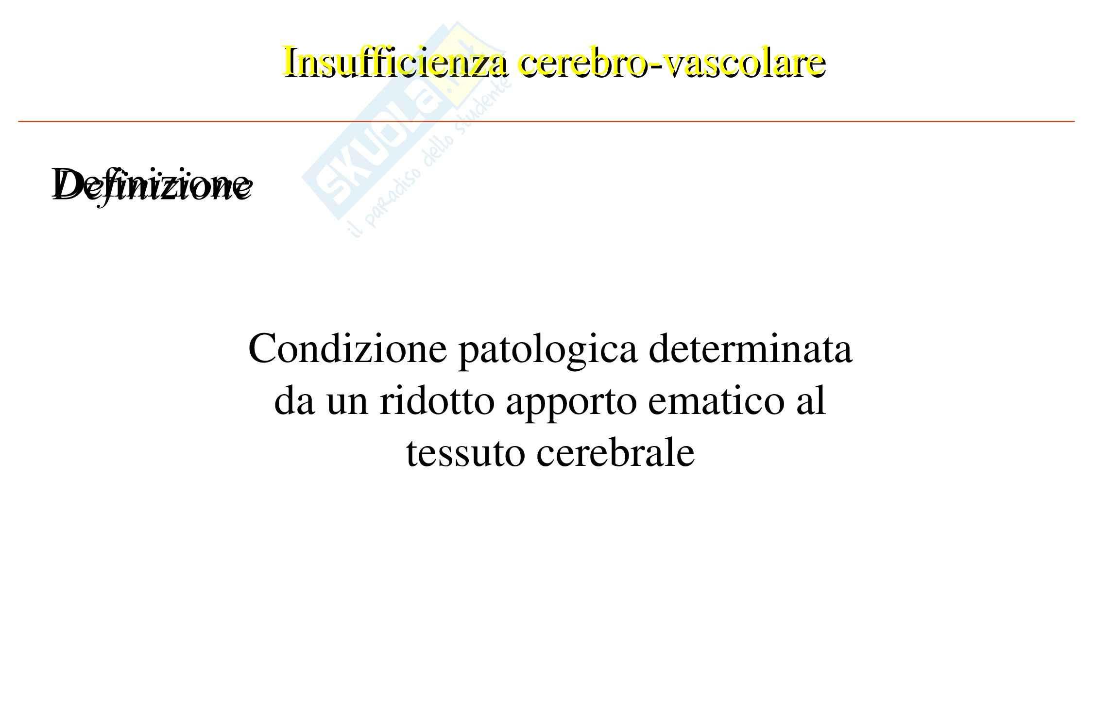 Cardiochirurgia - insufficienza cerebro-vascolare Pag. 2