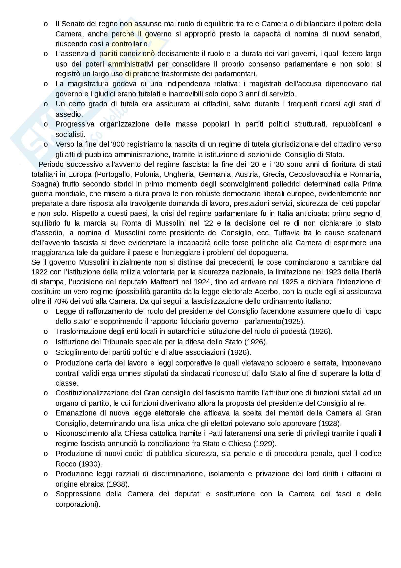 Diritto delle Istituzioni pubbliche - ordinamento italiano e sua evoluzione Pag. 2
