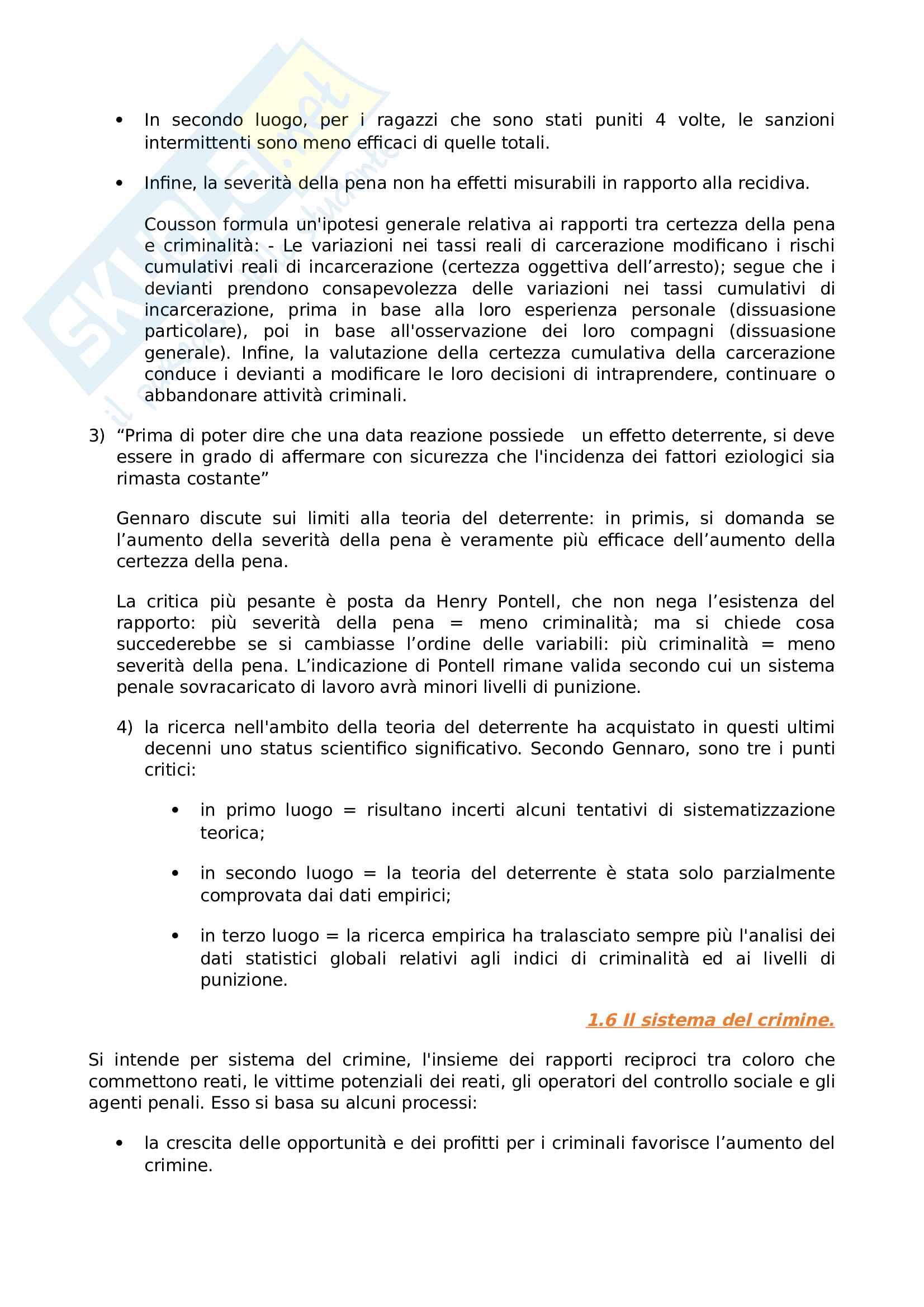 Riassunto esame Sociologia della devianza, prof Garreffa, libro consigliato Sociologia della devianza, Berzano, Prina Pag. 6