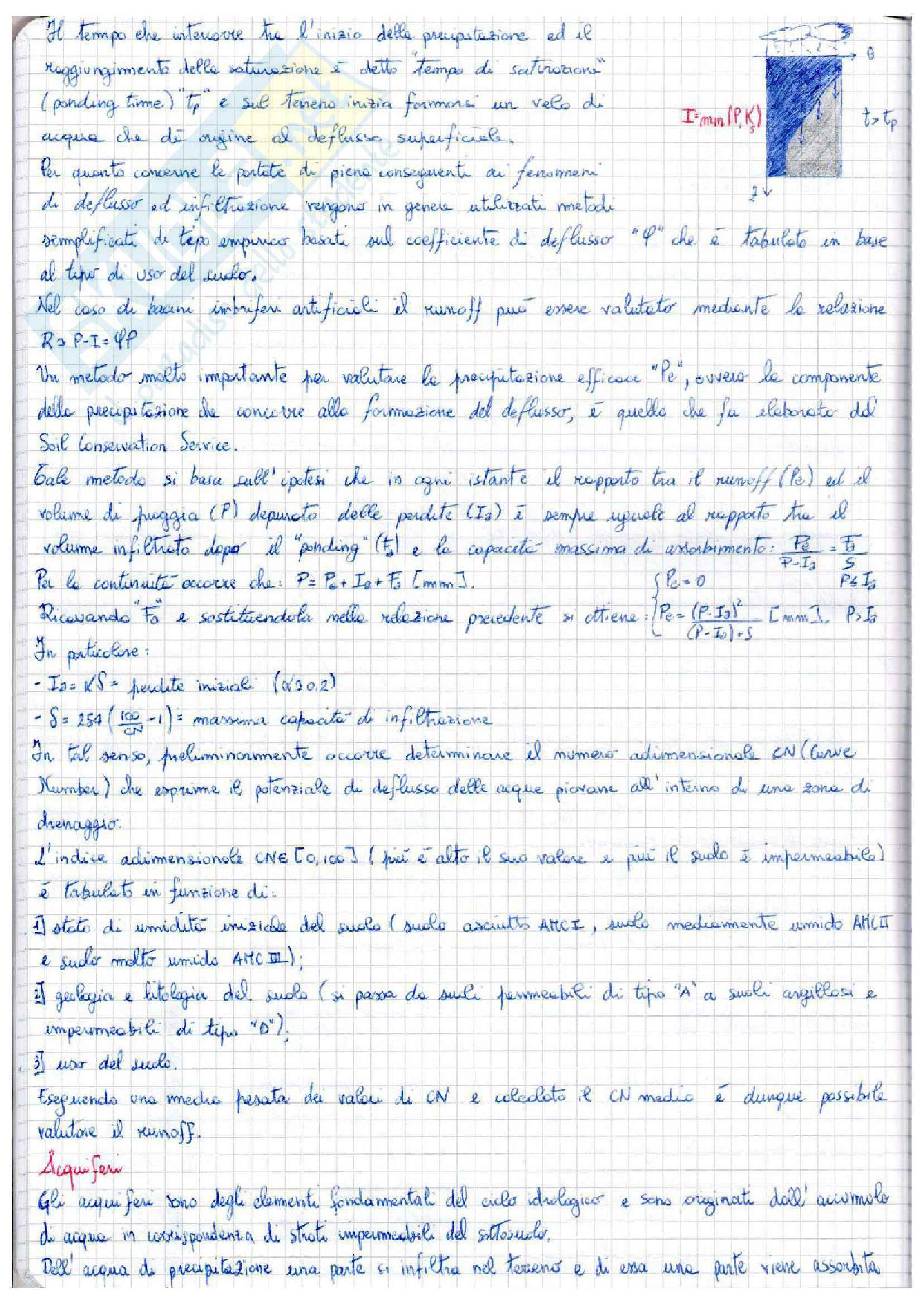 Complementi di idrologia - appunti Pag. 16