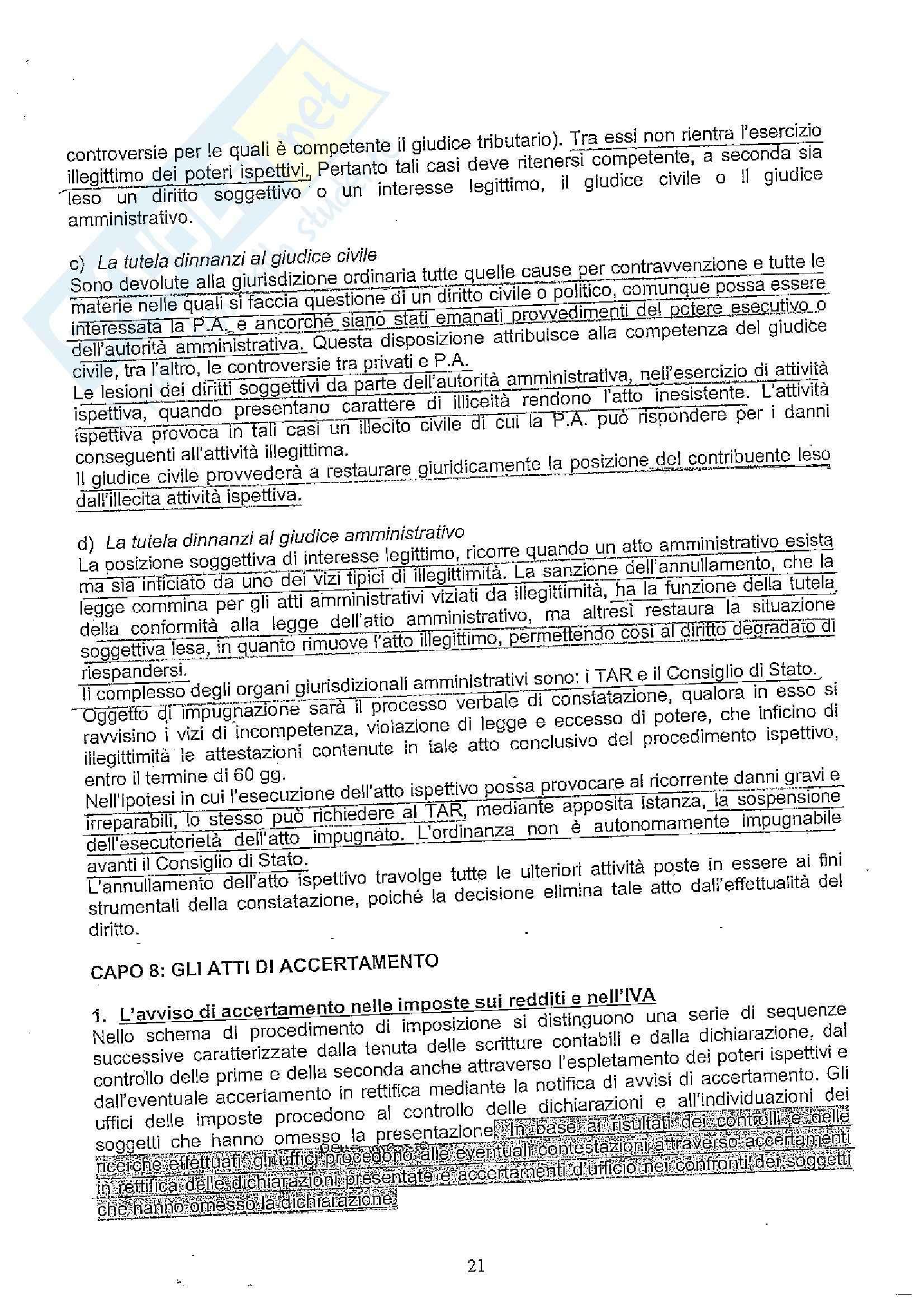 Diritto tributario II Pag. 21