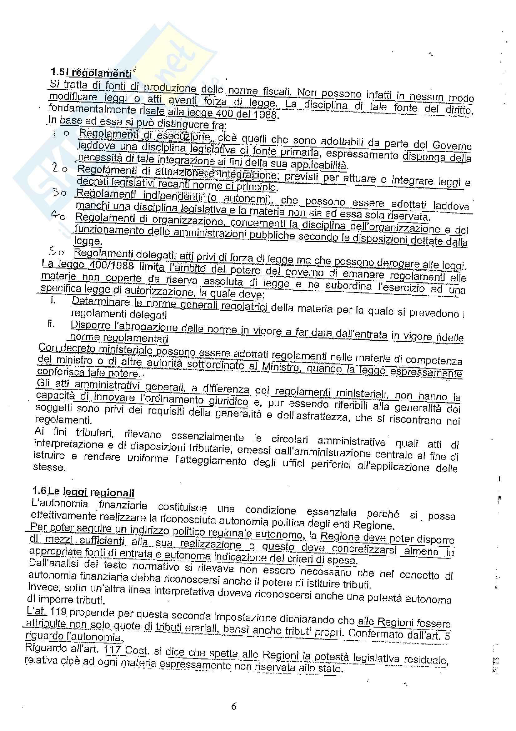 Diritto tributario II Pag. 6