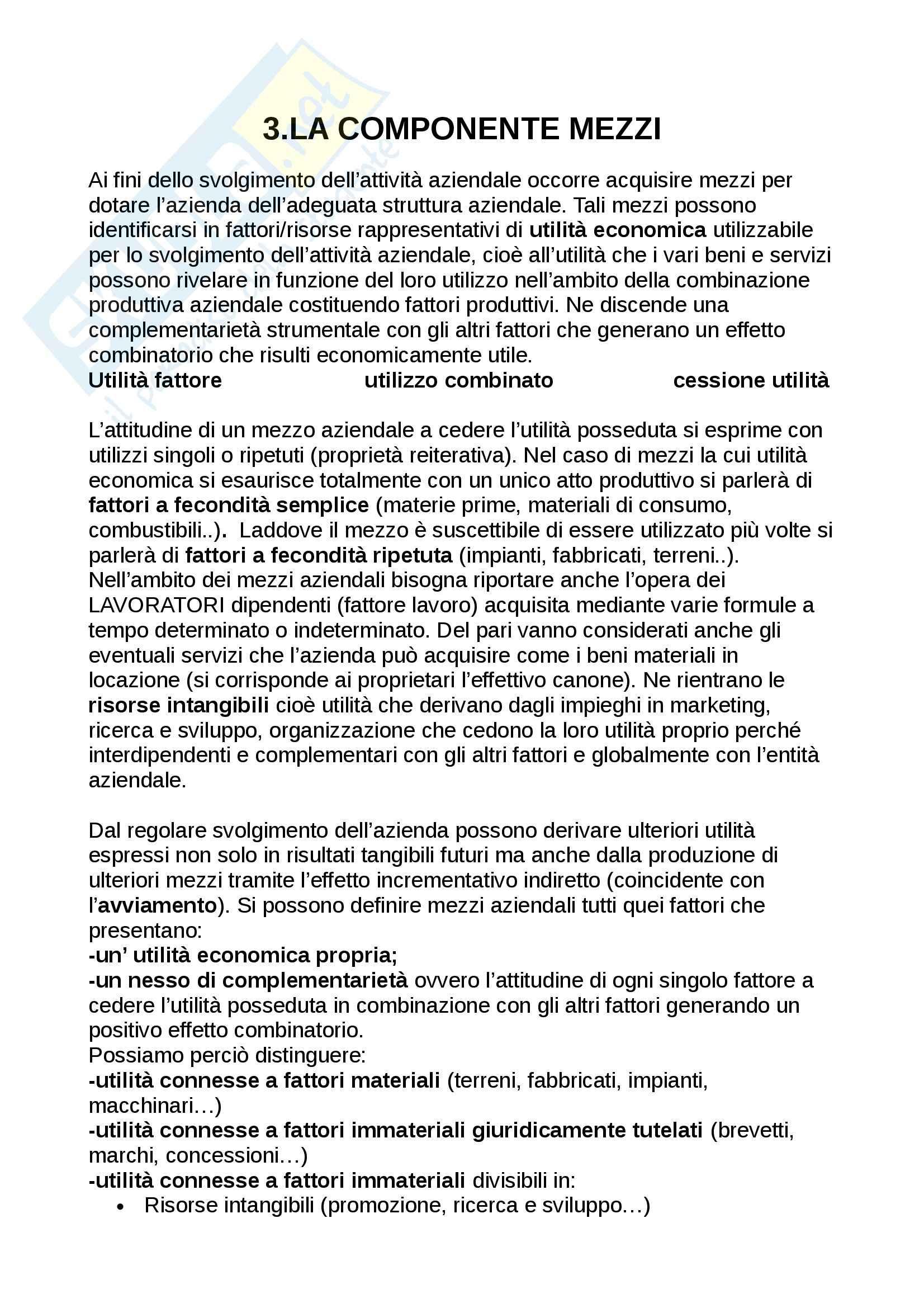 Riassunto esame Economia, prof. Adamo, libro consigliato Lineamenti di economia aziendale, Zanda Pag. 21