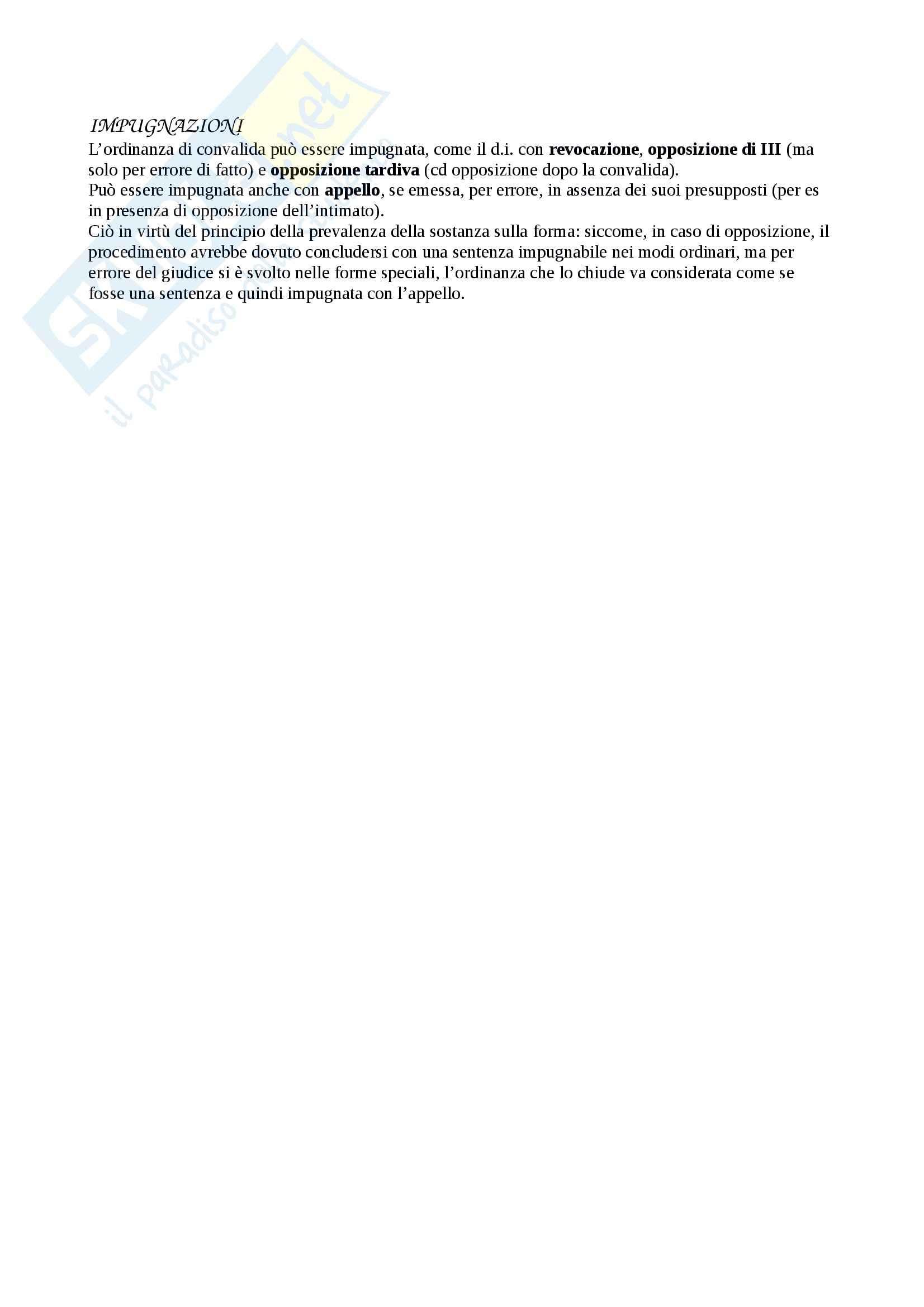 Riassunto esame Diritto Processuale Civile, prof. Sassani, libro consigliato Lineamenti del Processo Civile Italiano Pag. 136