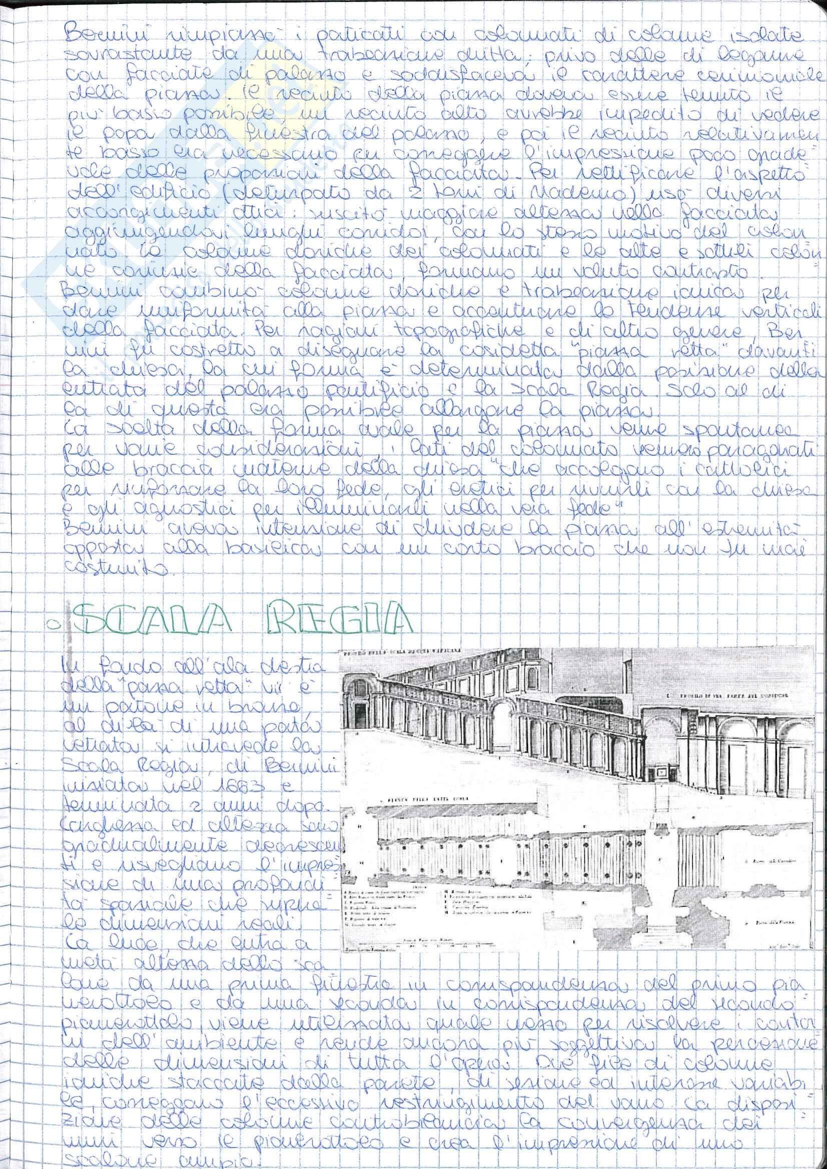 Riassunto esame Storia dell' Architettura ed Estetica, prof. Lerza, libro consigliato Arte ed architettura in Italia 1660-1750 Pag. 6