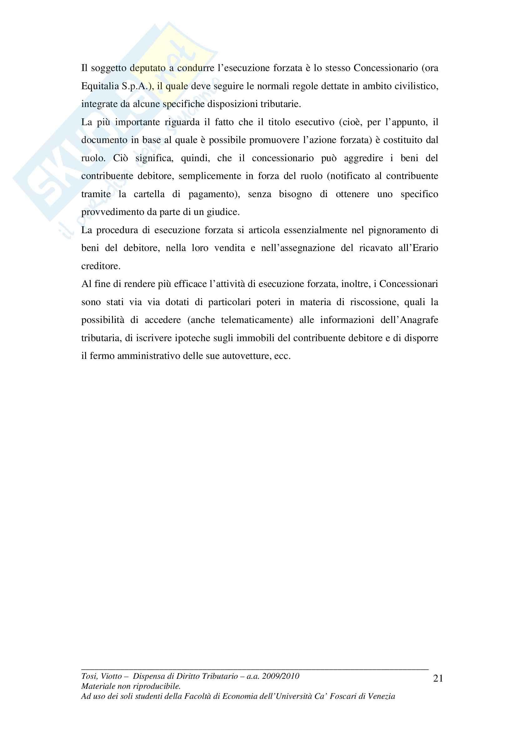 Diritto tributario - la dichiarazione tributaria Pag. 21