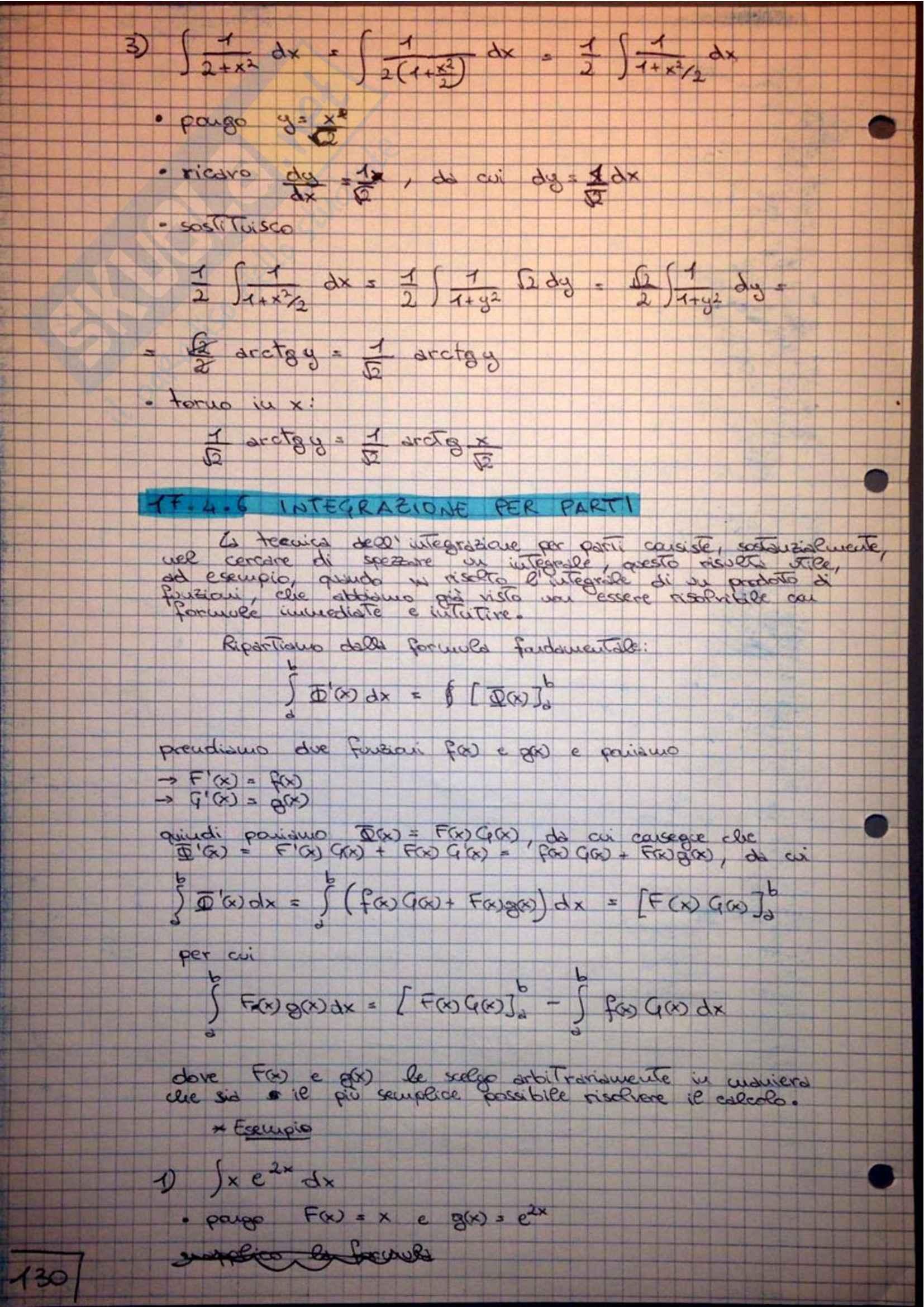 Analisi Matematica - Appunti Pag. 131