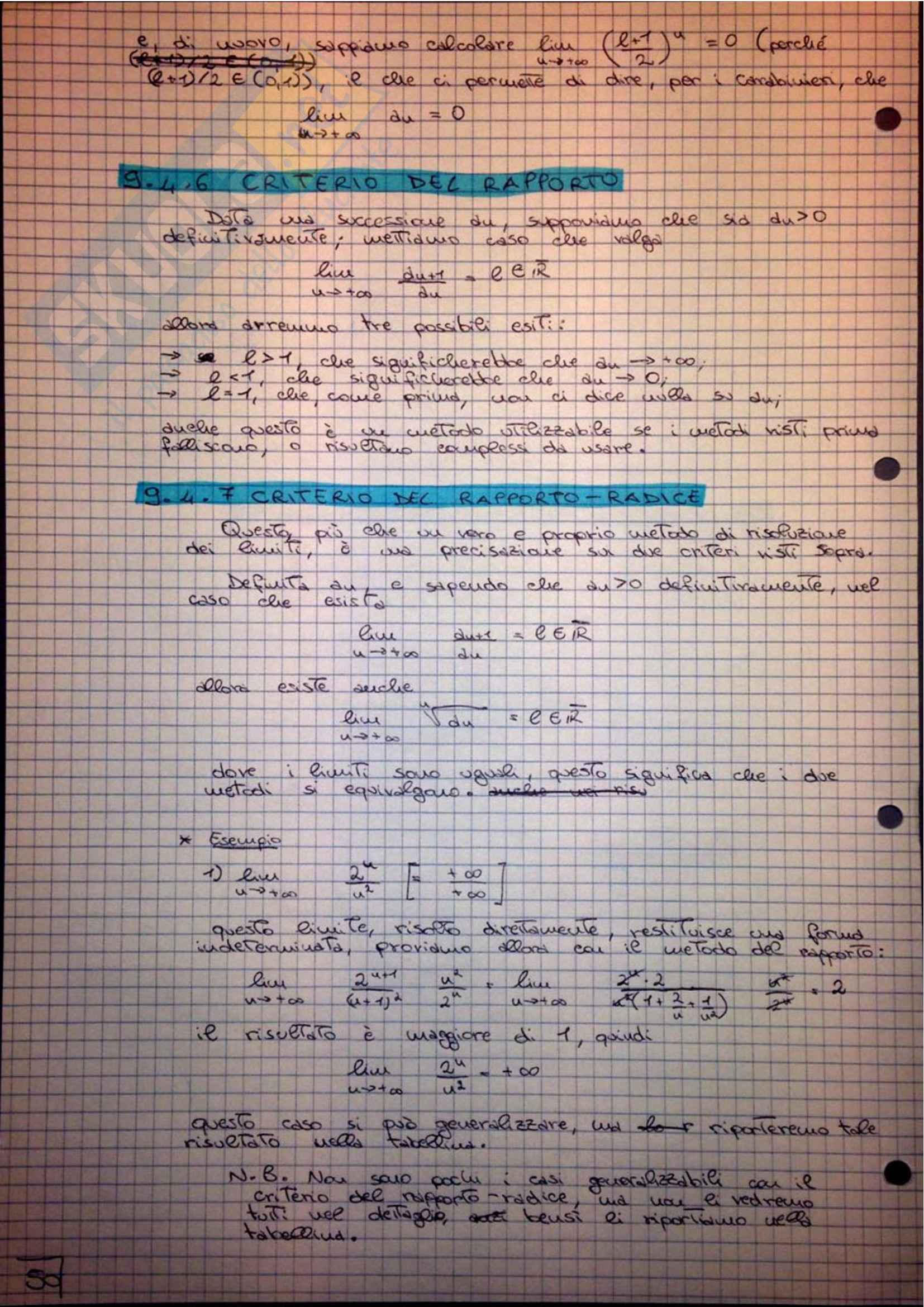 Analisi Matematica - Appunti Pag. 51