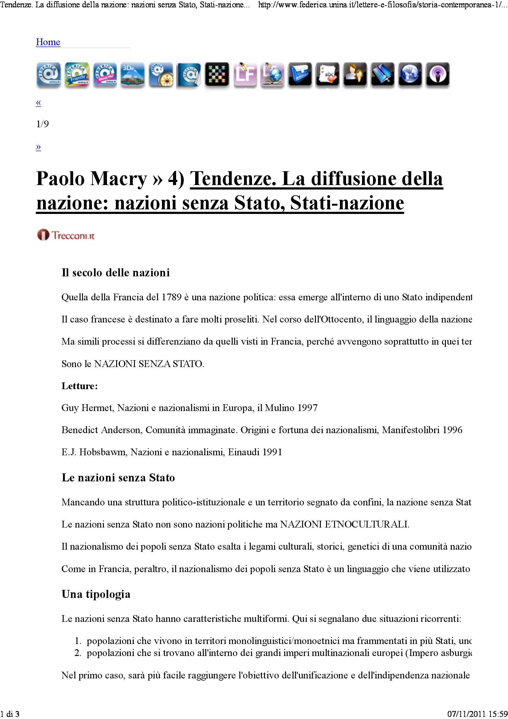 dispensa P. Macry Storia contemporanea 1