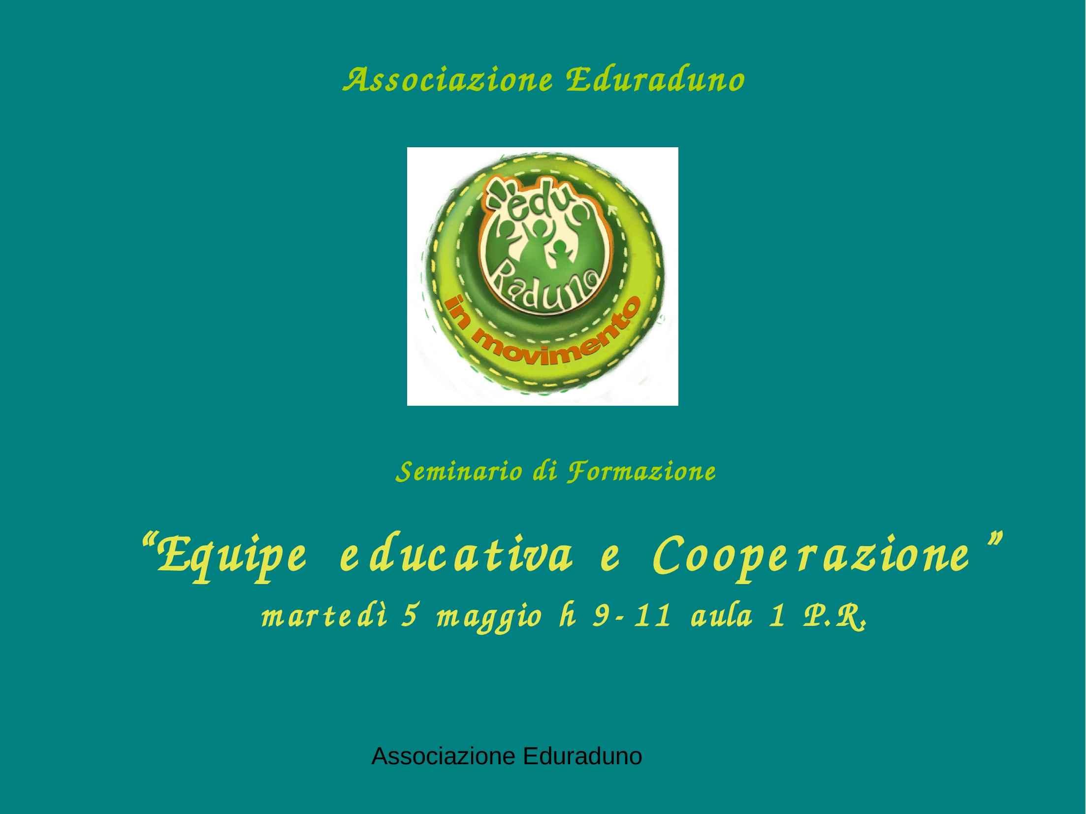 Equipe e cooperazione