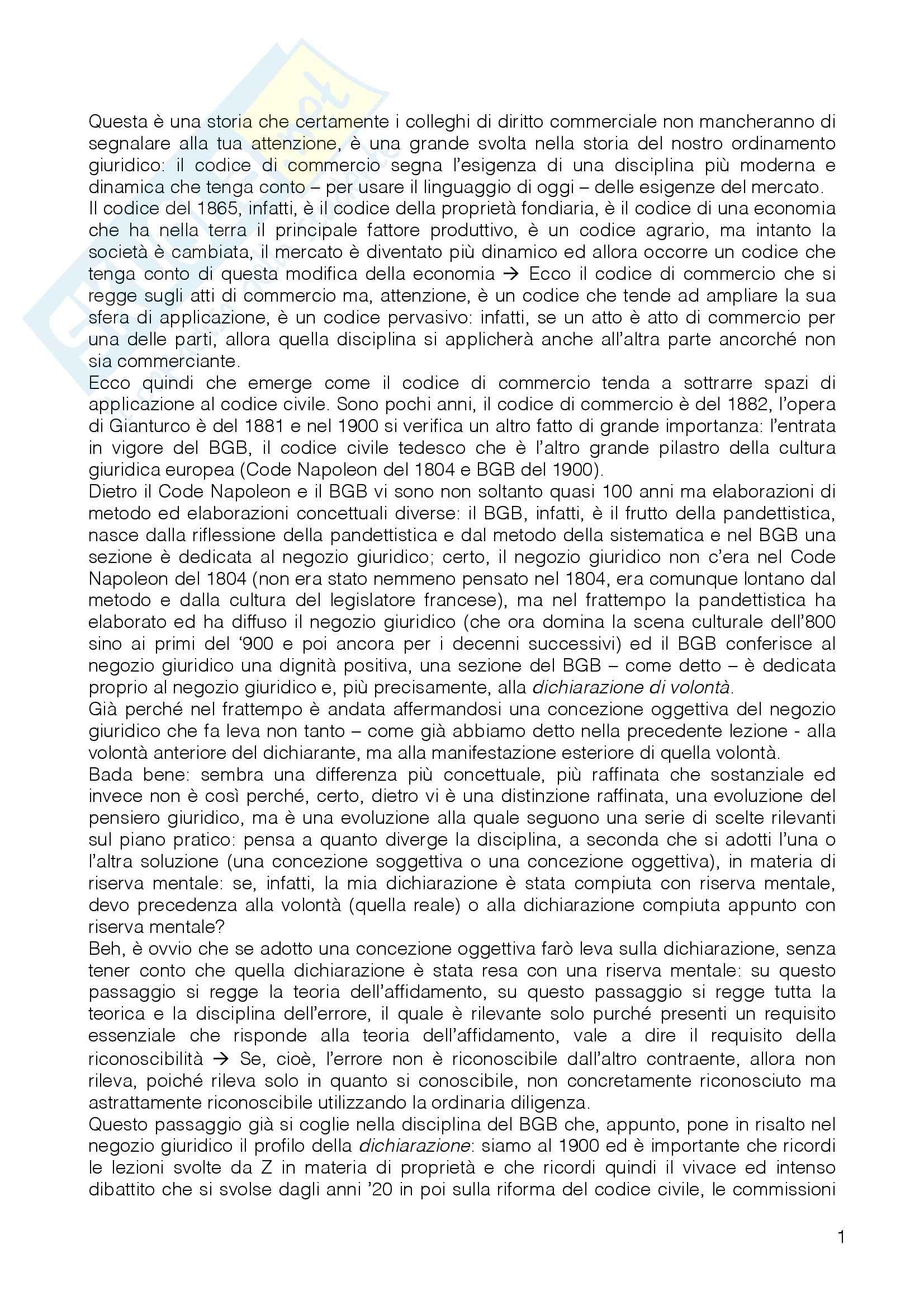 Diritto Privato II - Appunti Pag. 11