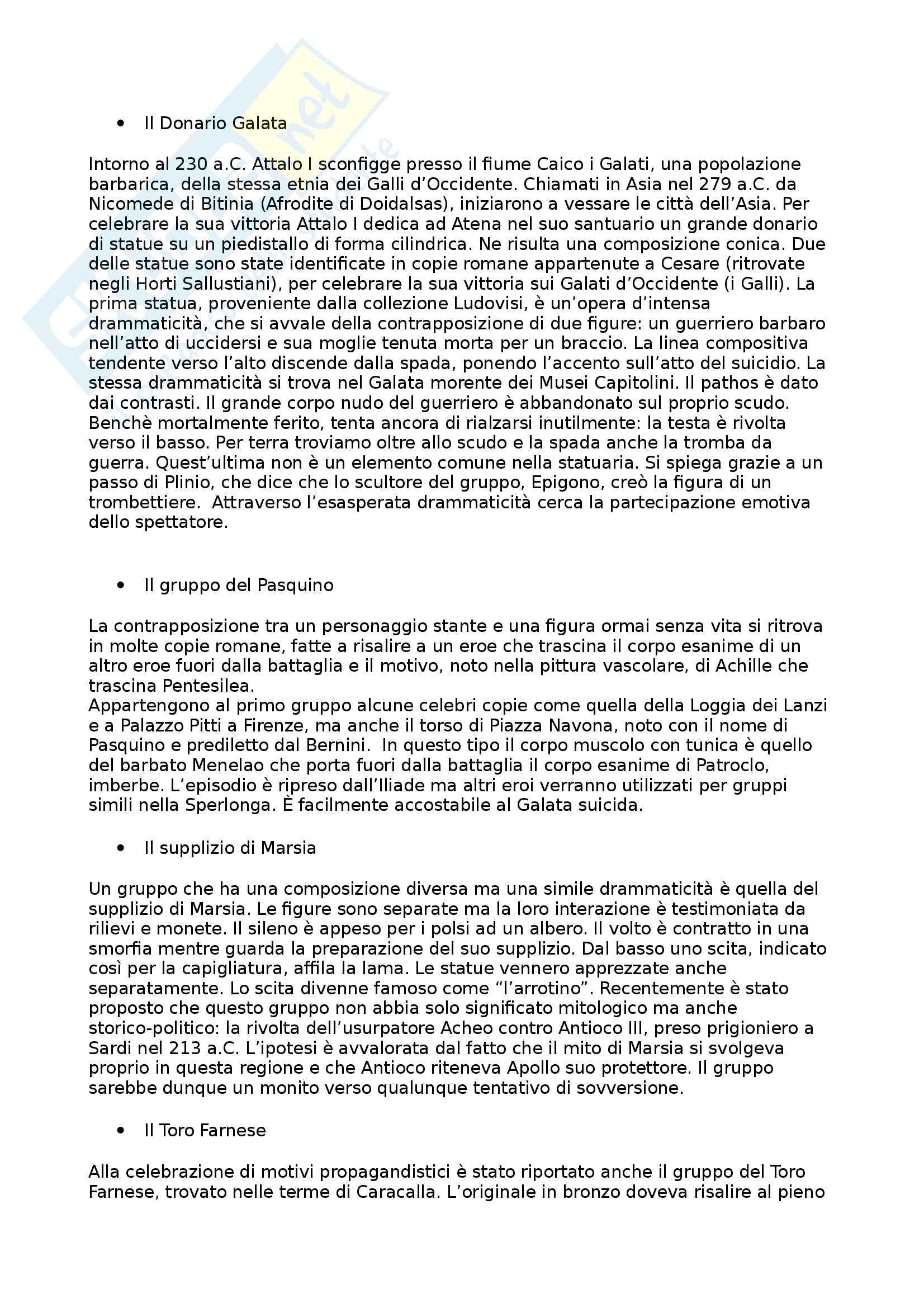 Riassunto esame Arte e Archeologia Greca, prof. Bejor, libro consigliato Arte Greca: Dal decimo al primo secolo a.C di Bejor, Castoldi e Lambrugo Pag. 66