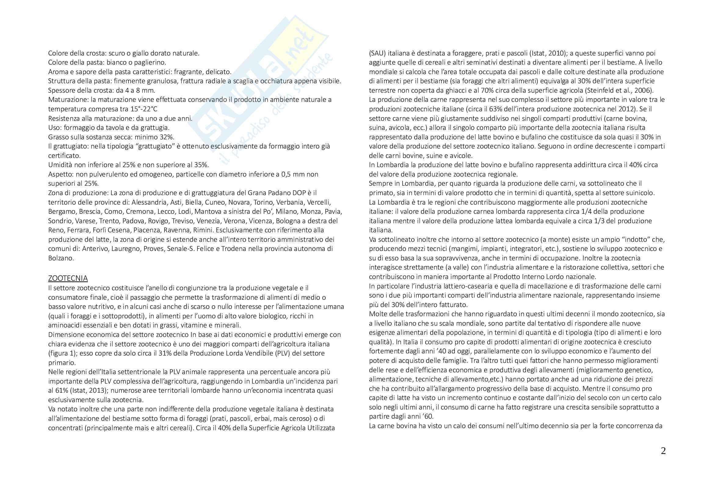 Produzioni animali vegetali, appunti Pag. 2