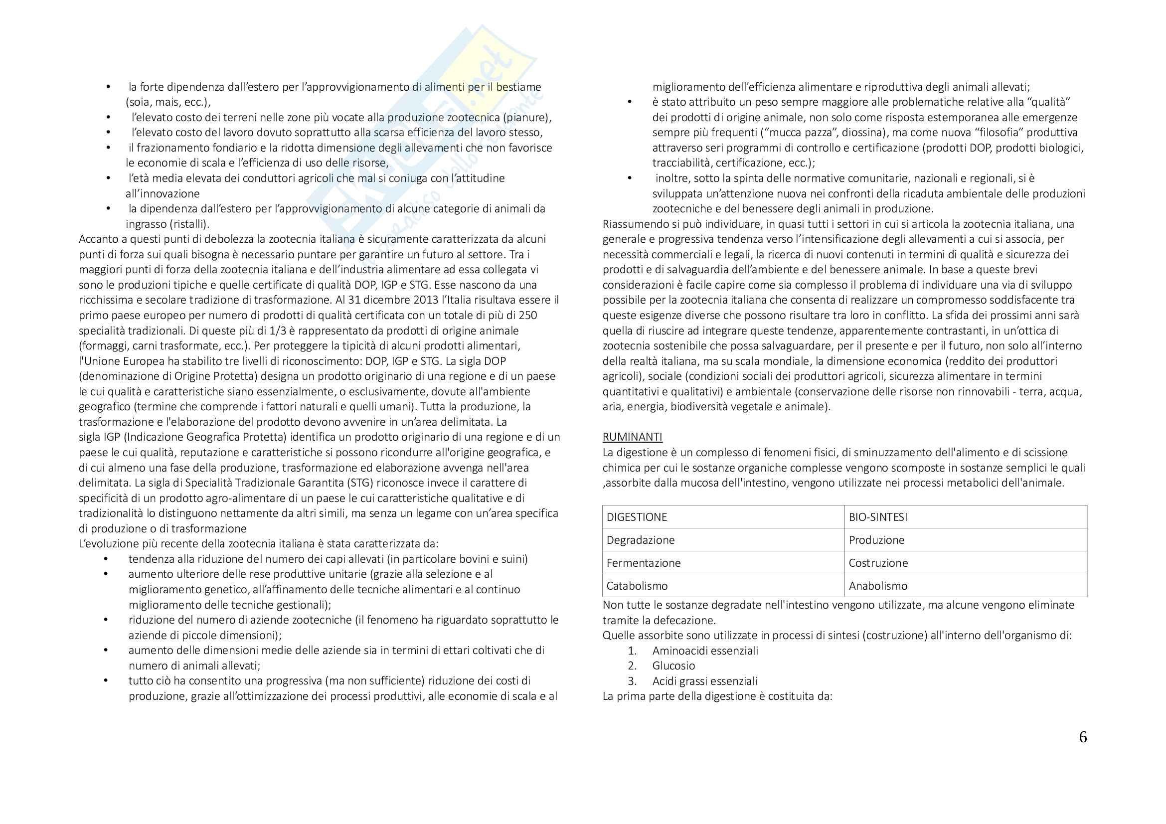 Produzioni animali vegetali, appunti Pag. 6