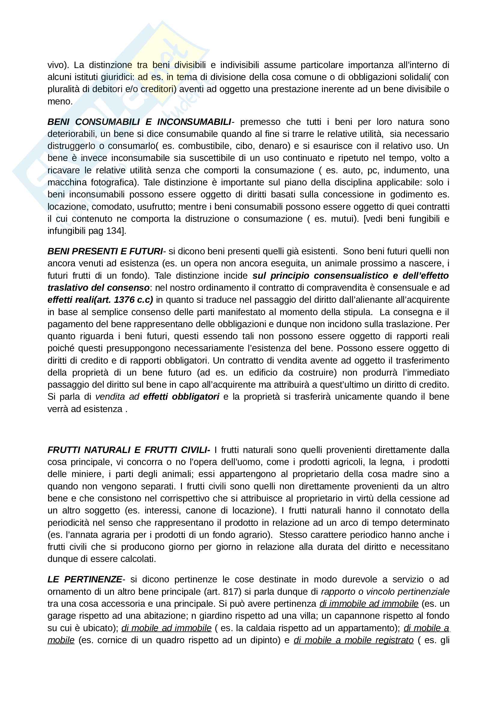 Riassunto esame di Diritto Privato, prof. Salvatore Bosa, libro consigliato: Diritto civile, Claudio Turco Pag. 16