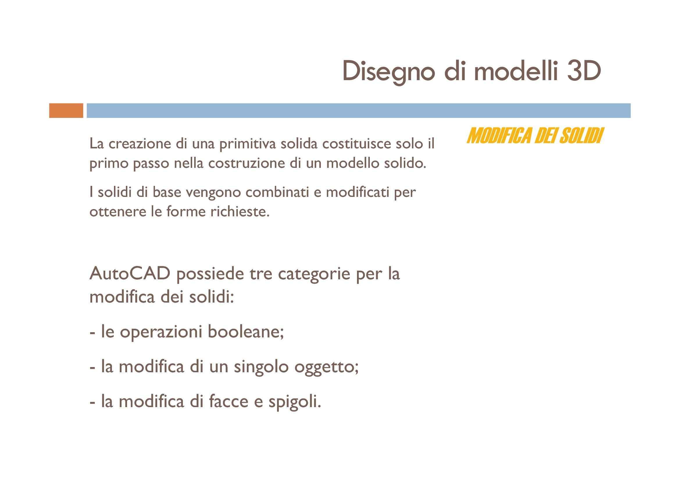Disegno di modelli 3D